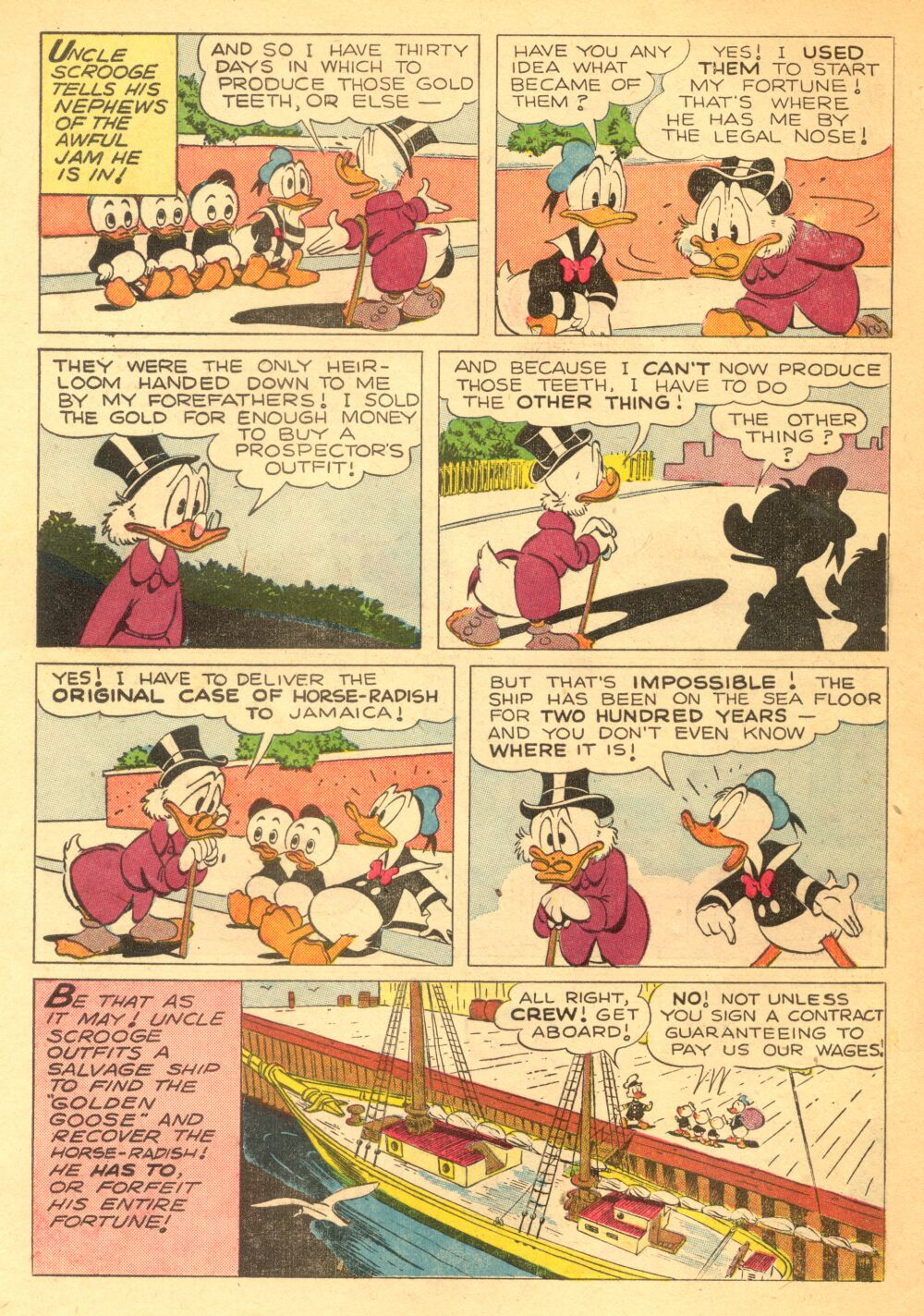 Uncle Scrooge (1953) Issue #3 #3 - English 6