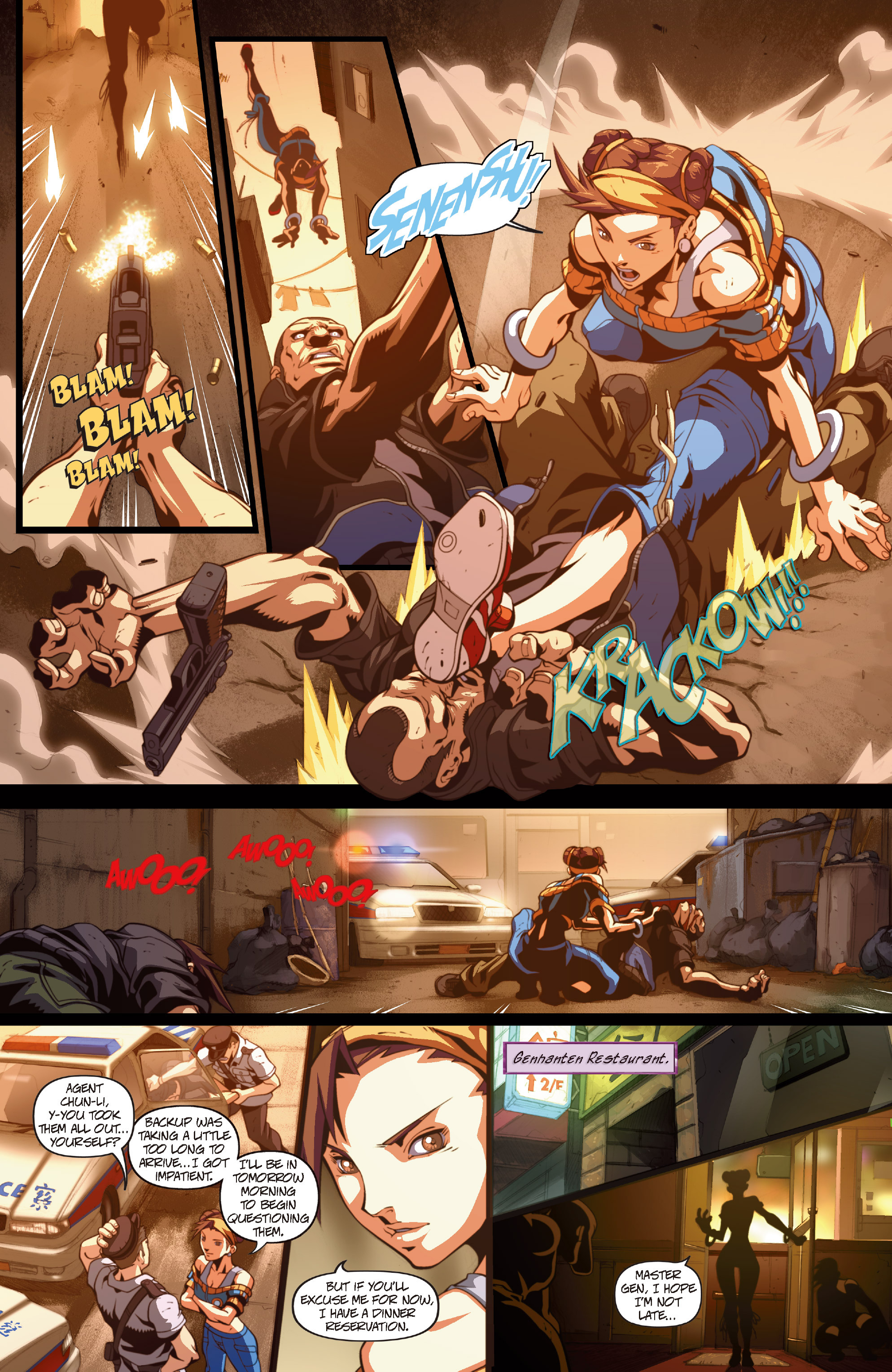Street Fighter II chap 1 pic 27
