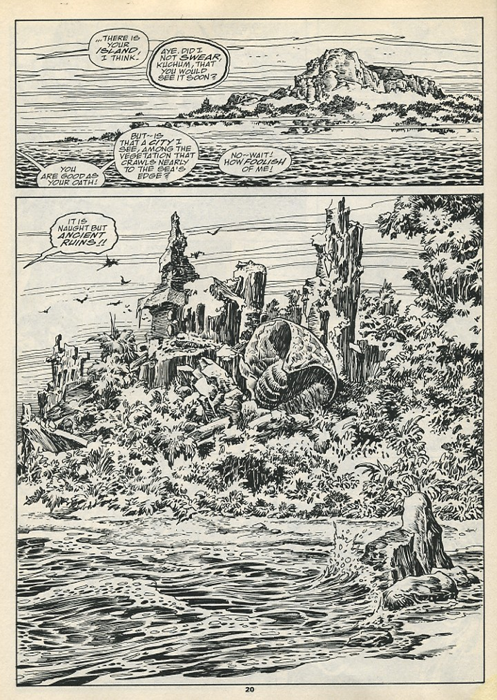 The Savage Sword Of Conan Issue #192 #193 - English 22