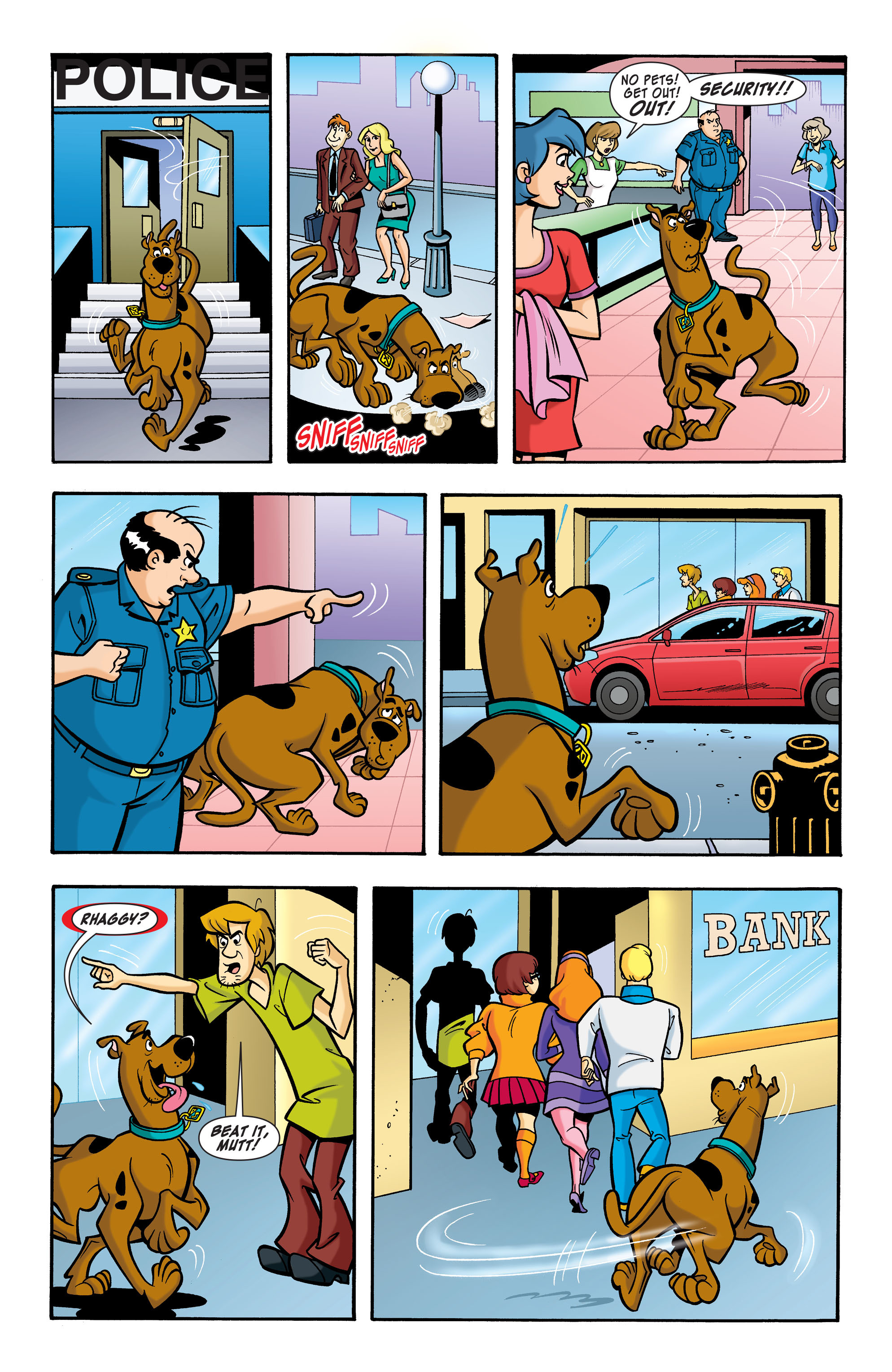 Read online Scooby-Doo: Where Are You? comic -  Issue #64 - 4