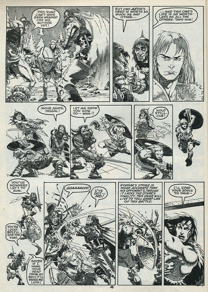 The Savage Sword Of Conan Issue #182 #183 - English 48