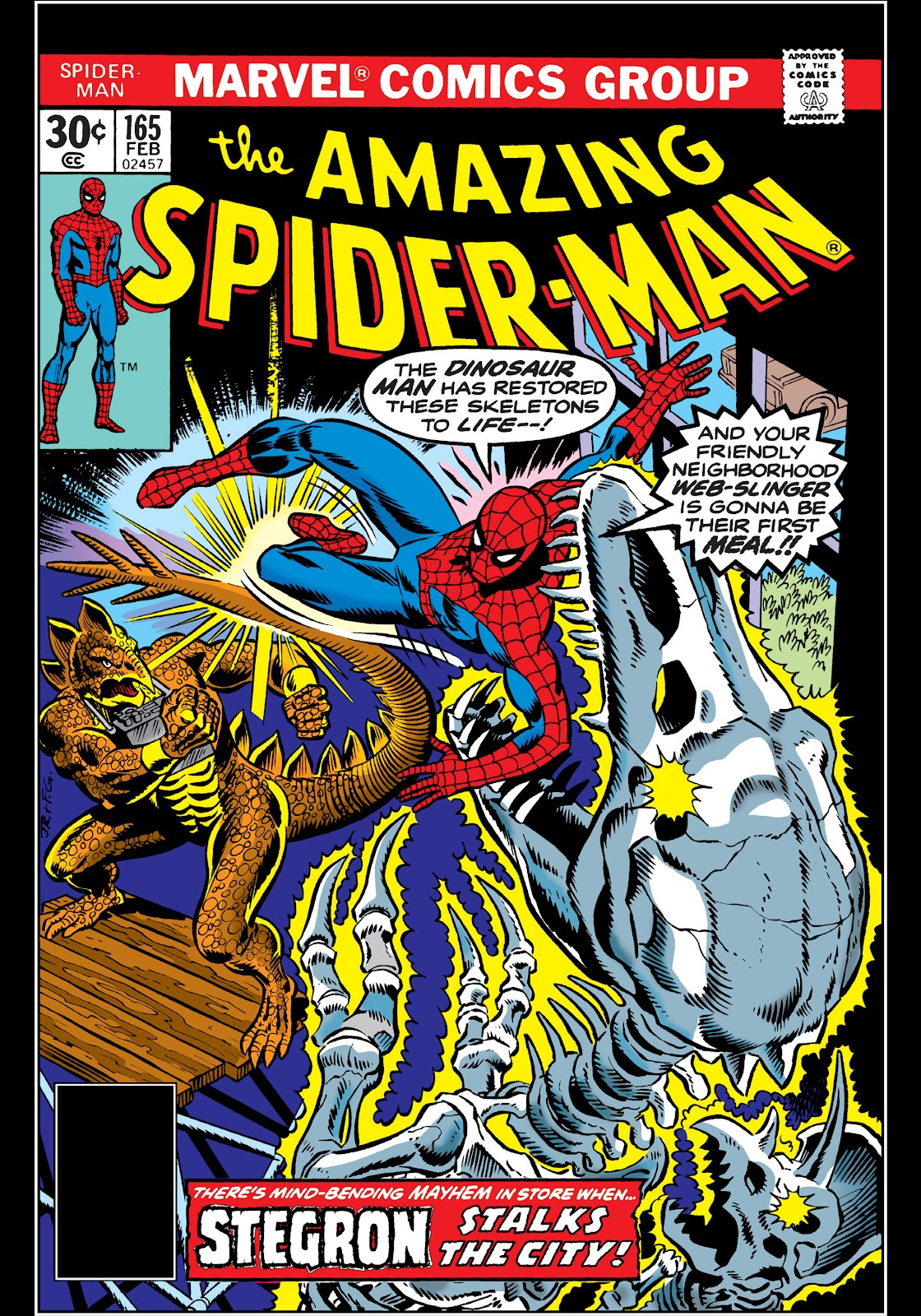 the amazing spider man 1963 issue 165 read full comics online