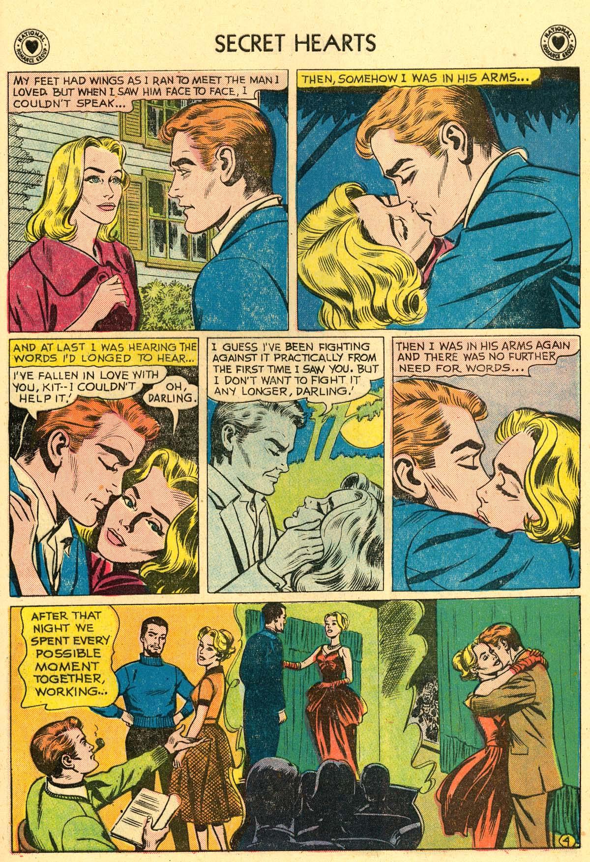 Read online Secret Hearts comic -  Issue #62 - 21