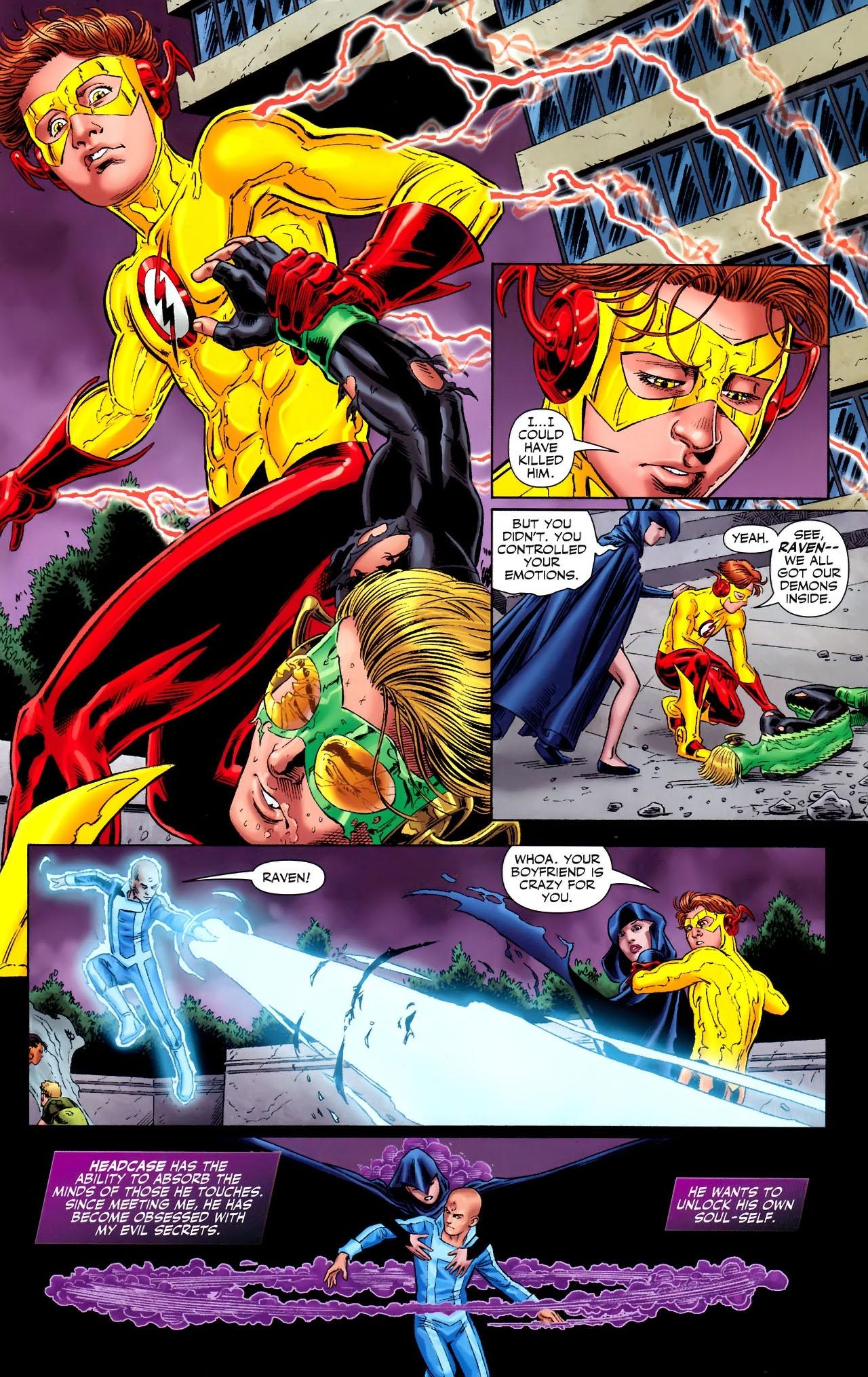 Teen Titans (2003) #100 #110 - English 12