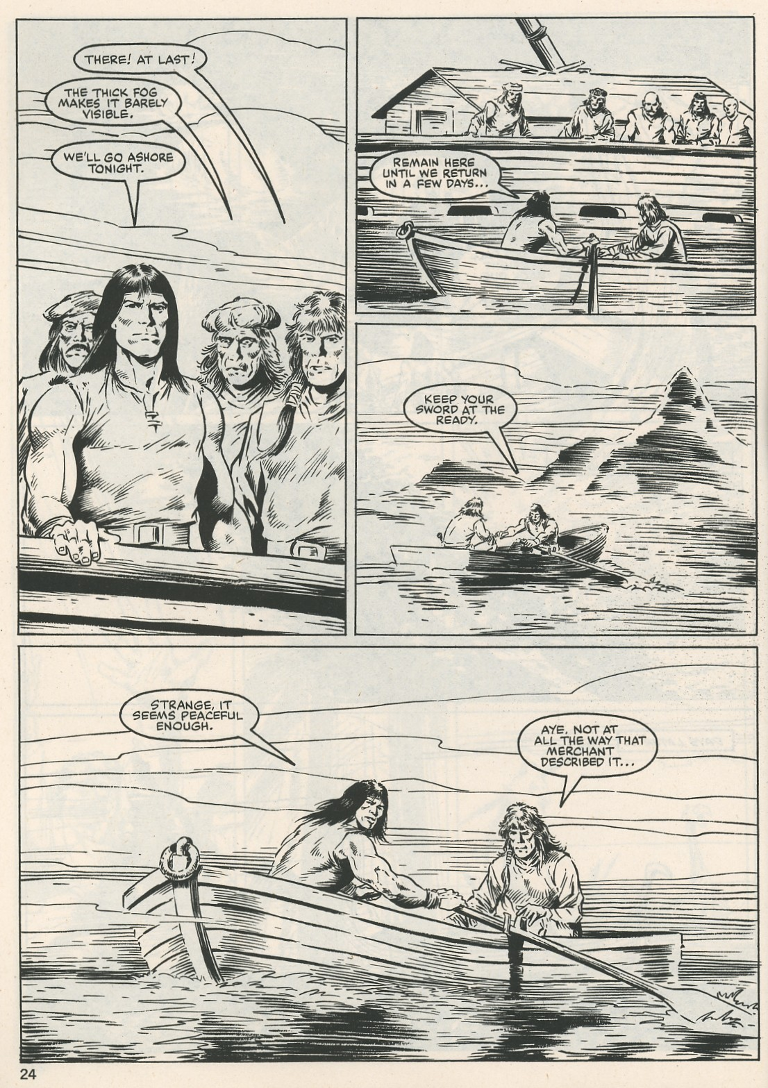 The Savage Sword Of Conan Issue #115 #116 - English 24