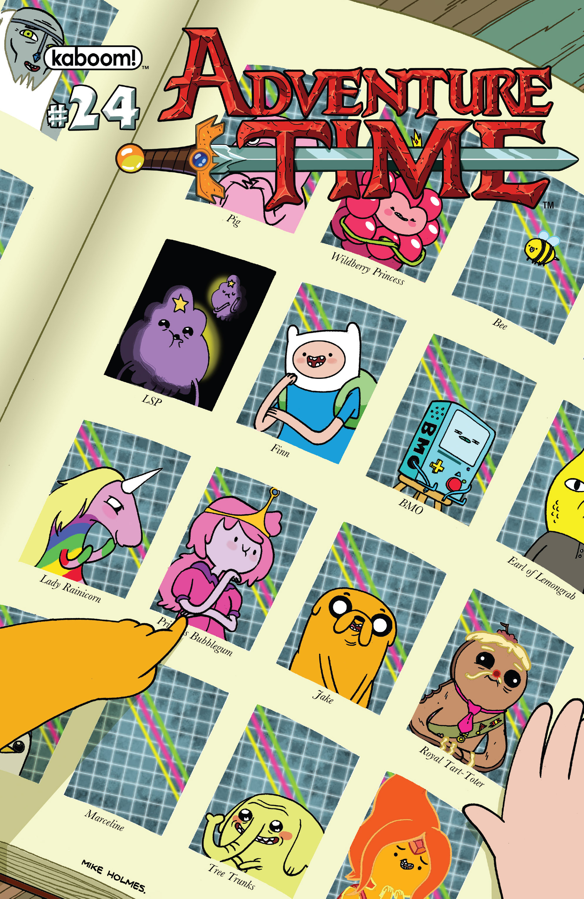 Adventure Time 24 Page 1