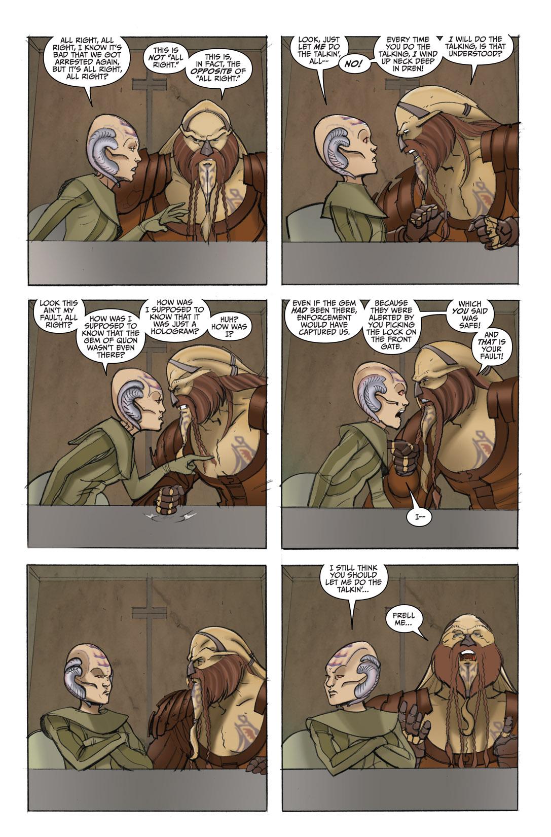 Read online Farscape: D'Argo's Quest comic -  Issue #4 - 4