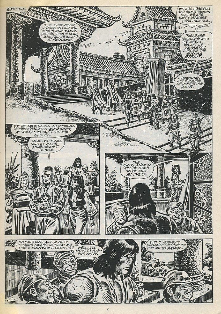 The Savage Sword Of Conan Issue #194 #195 - English 9