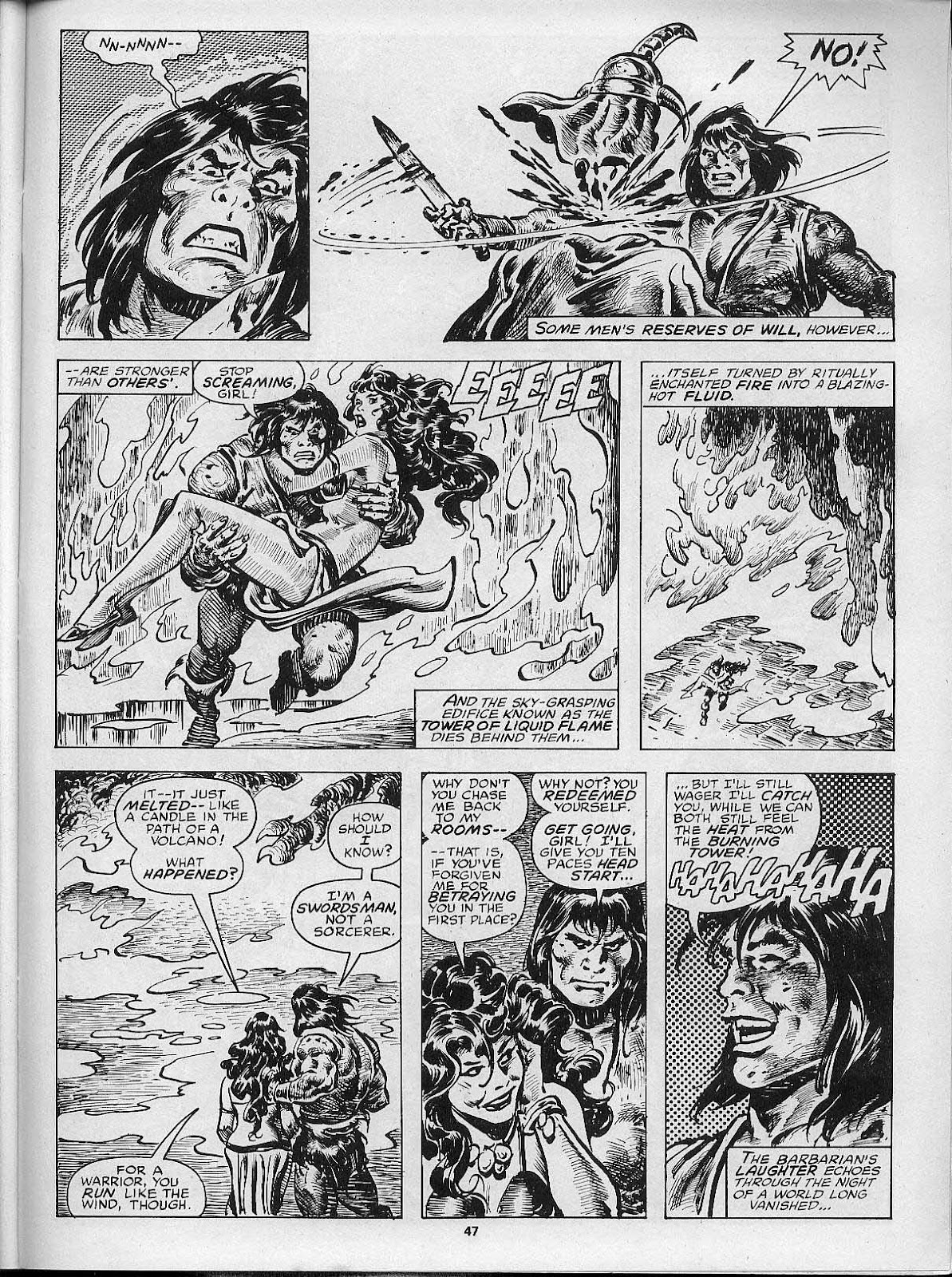 The Savage Sword Of Conan Issue #200 #201 - English 49