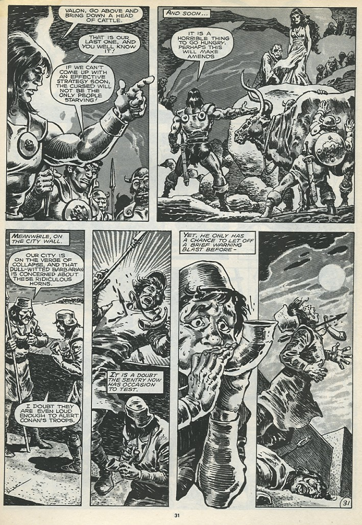 The Savage Sword Of Conan Issue #173 #174 - English 33