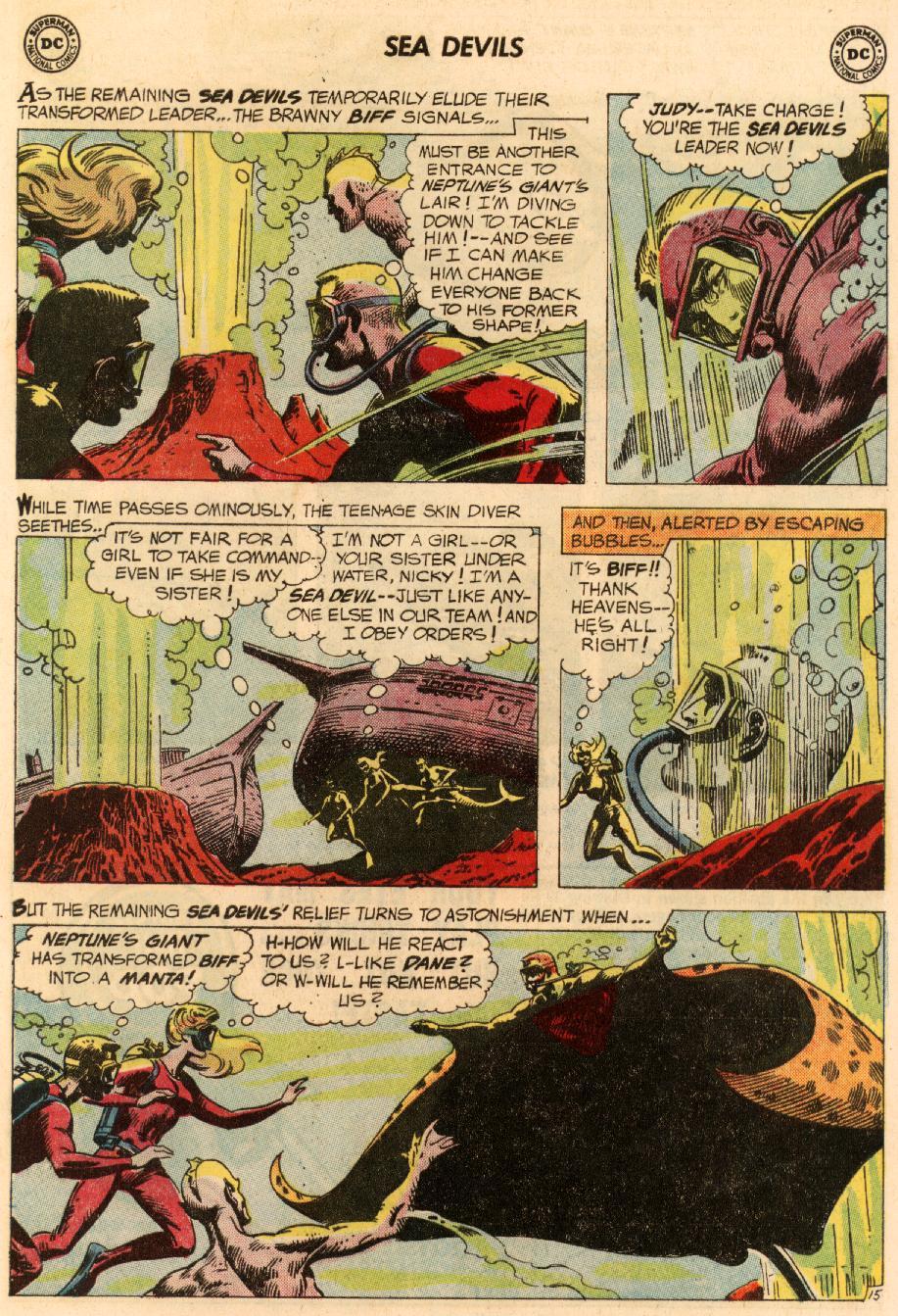 Read online Sea Devils comic -  Issue #8 - 22