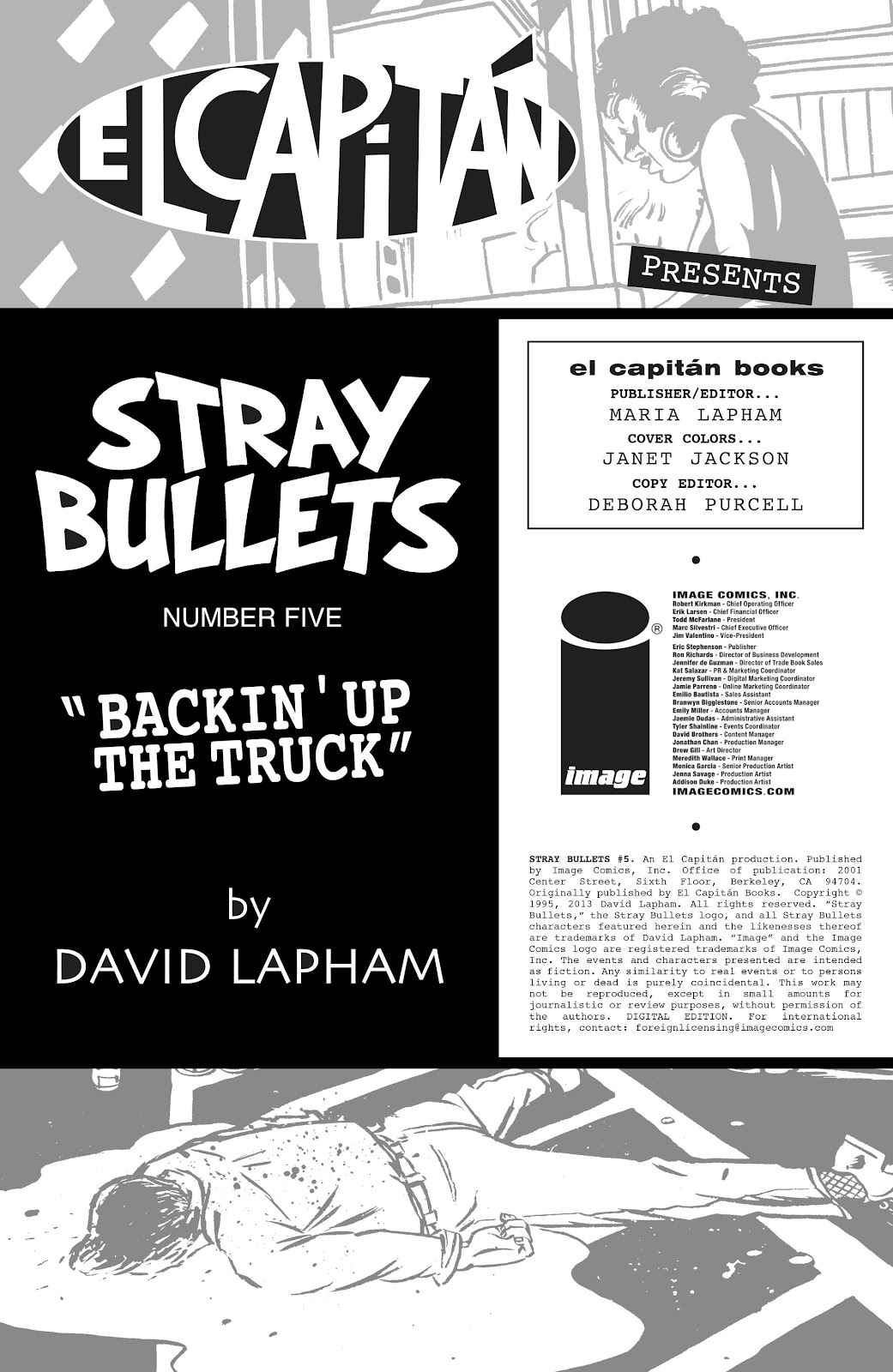 Stray Bullets Issue #5 #5 - English 2