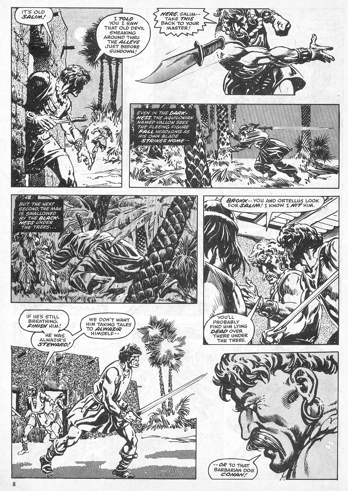 The Savage Sword Of Conan Issue #28 #29 - English 8