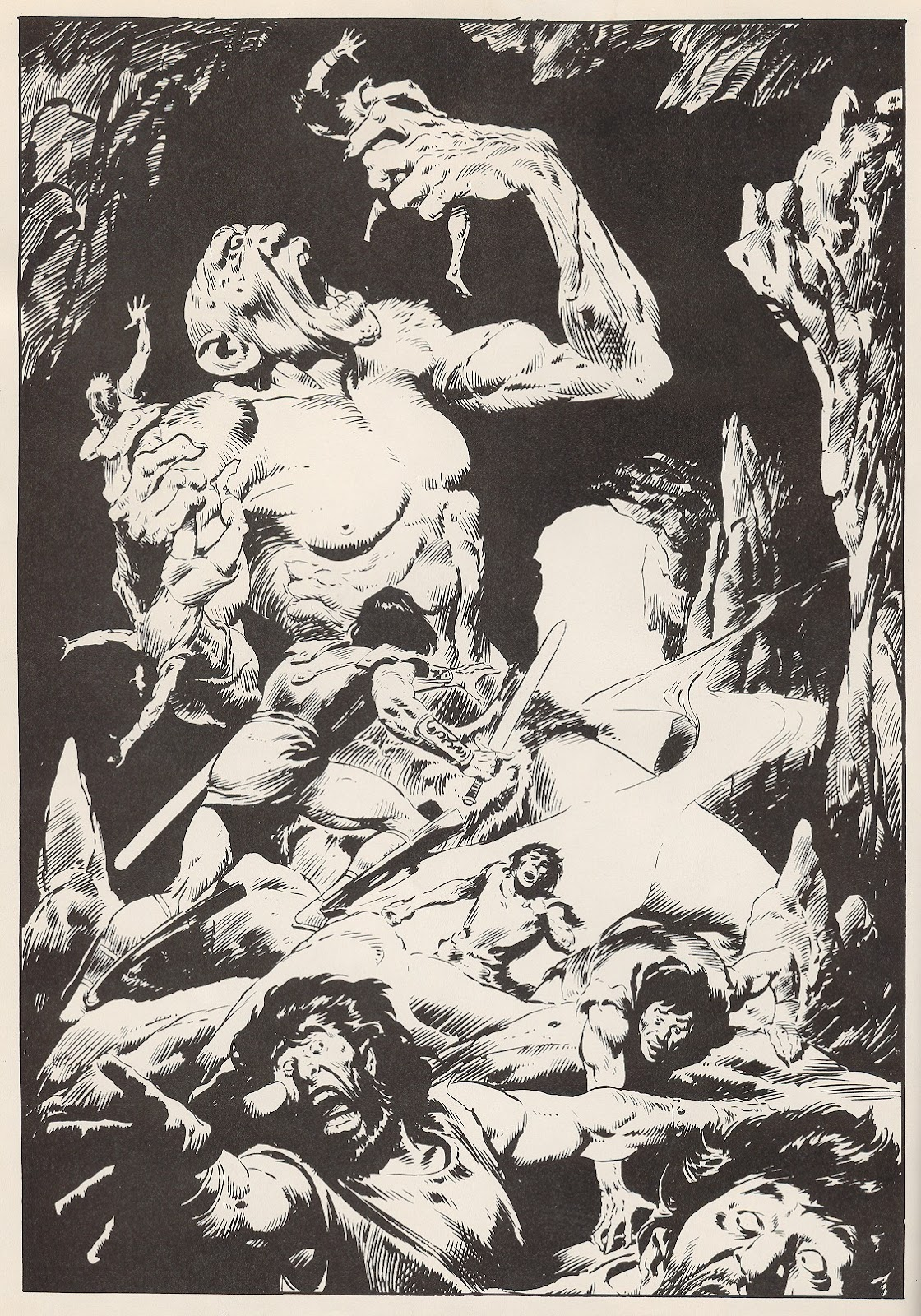 The Savage Sword Of Conan Issue #58 #59 - English 2