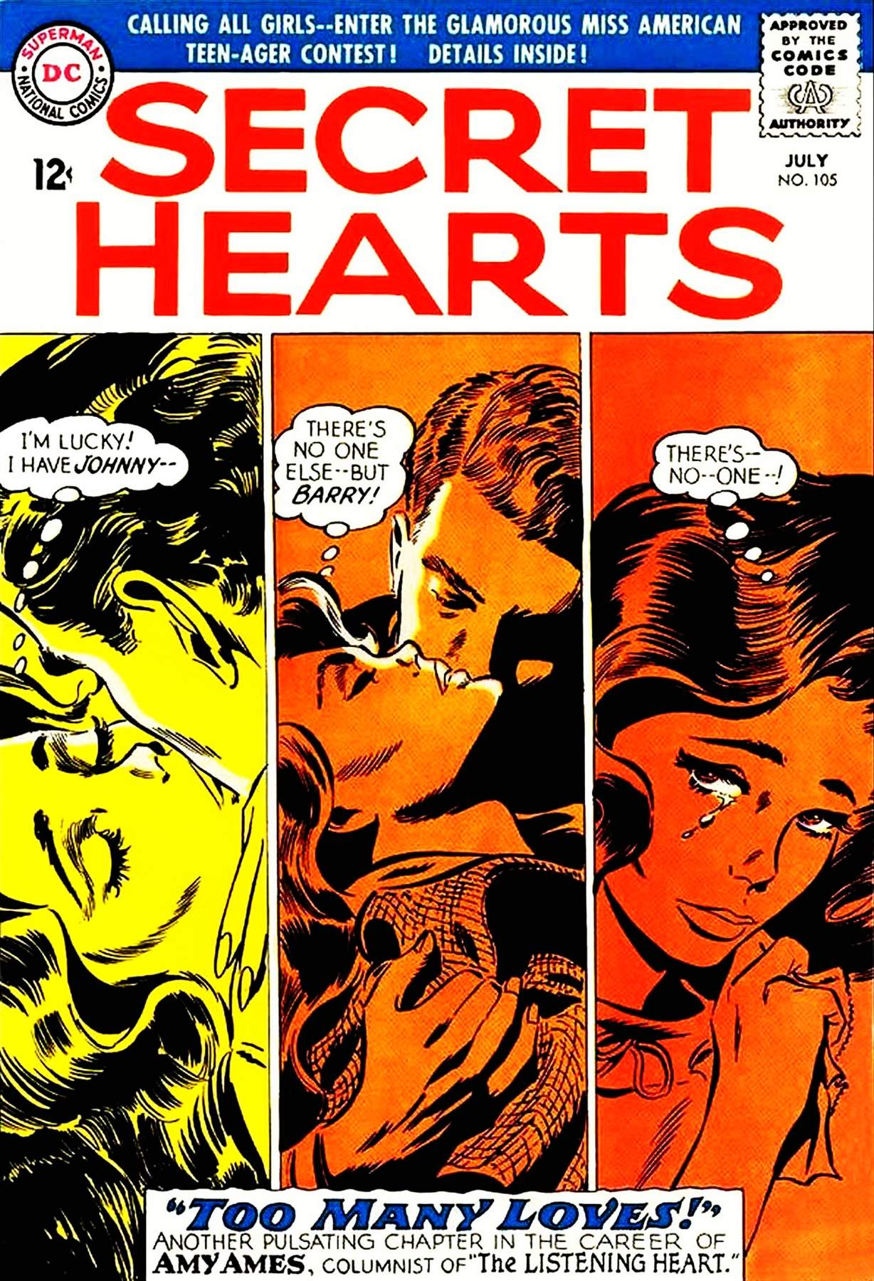 Read online Secret Hearts comic -  Issue #105 - 1