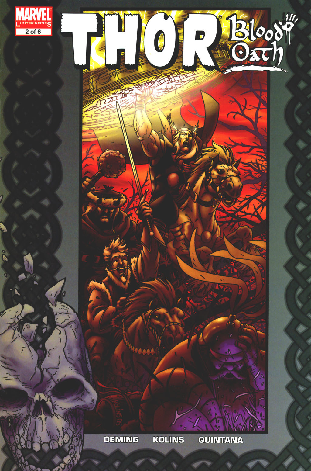 Read online Thor: Blood Oath comic -  Issue #2 - 1