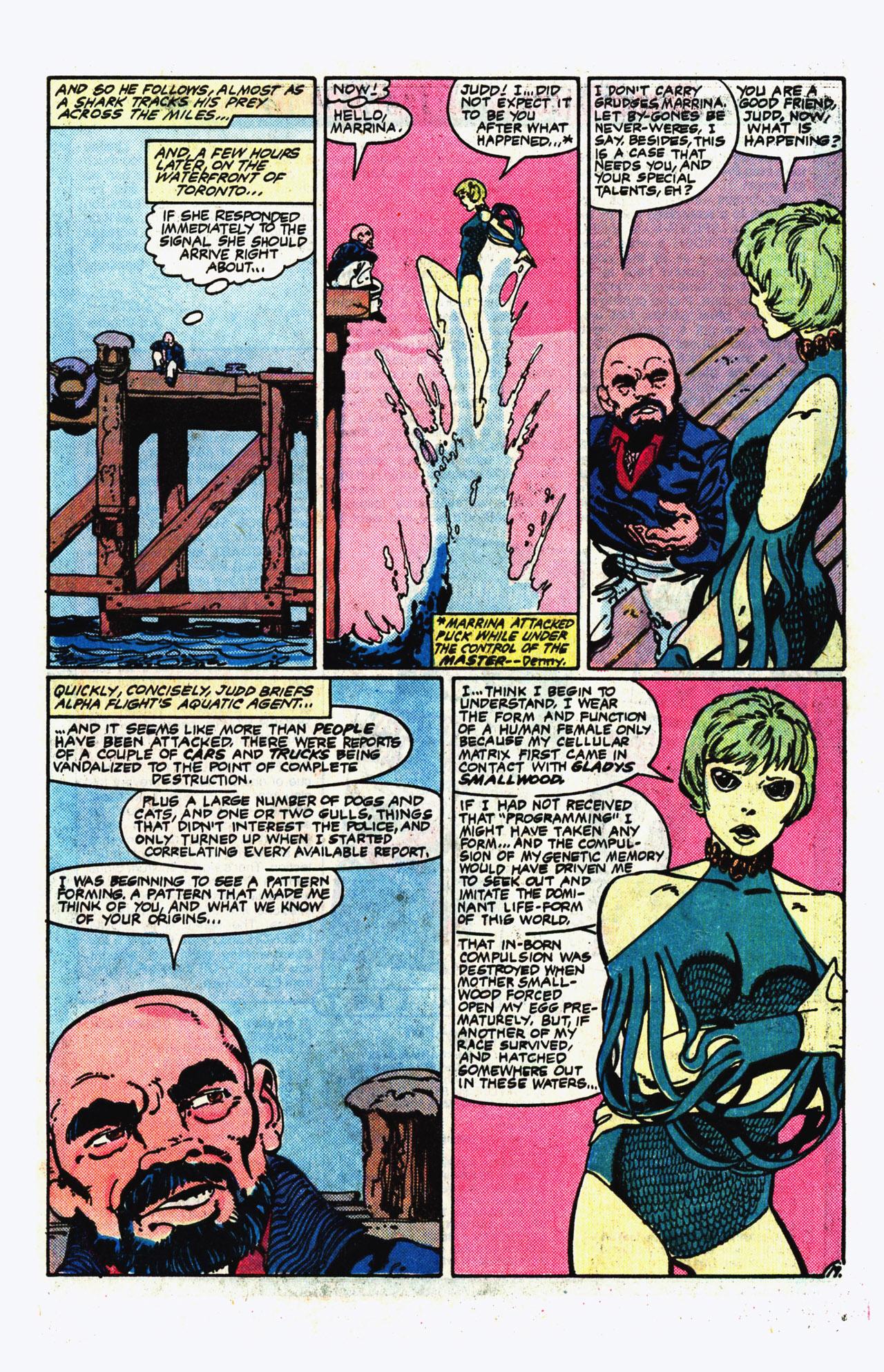 Alpha Flight (1983) 14 Page 19