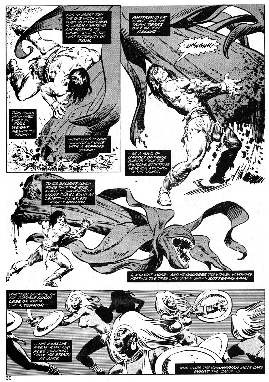 The Savage Sword Of Conan Issue #42 #43 - English 30