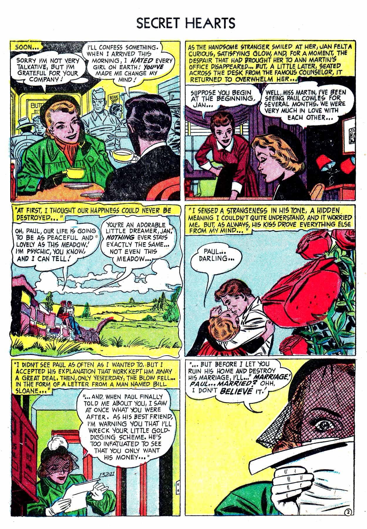 Read online Secret Hearts comic -  Issue #8 - 12