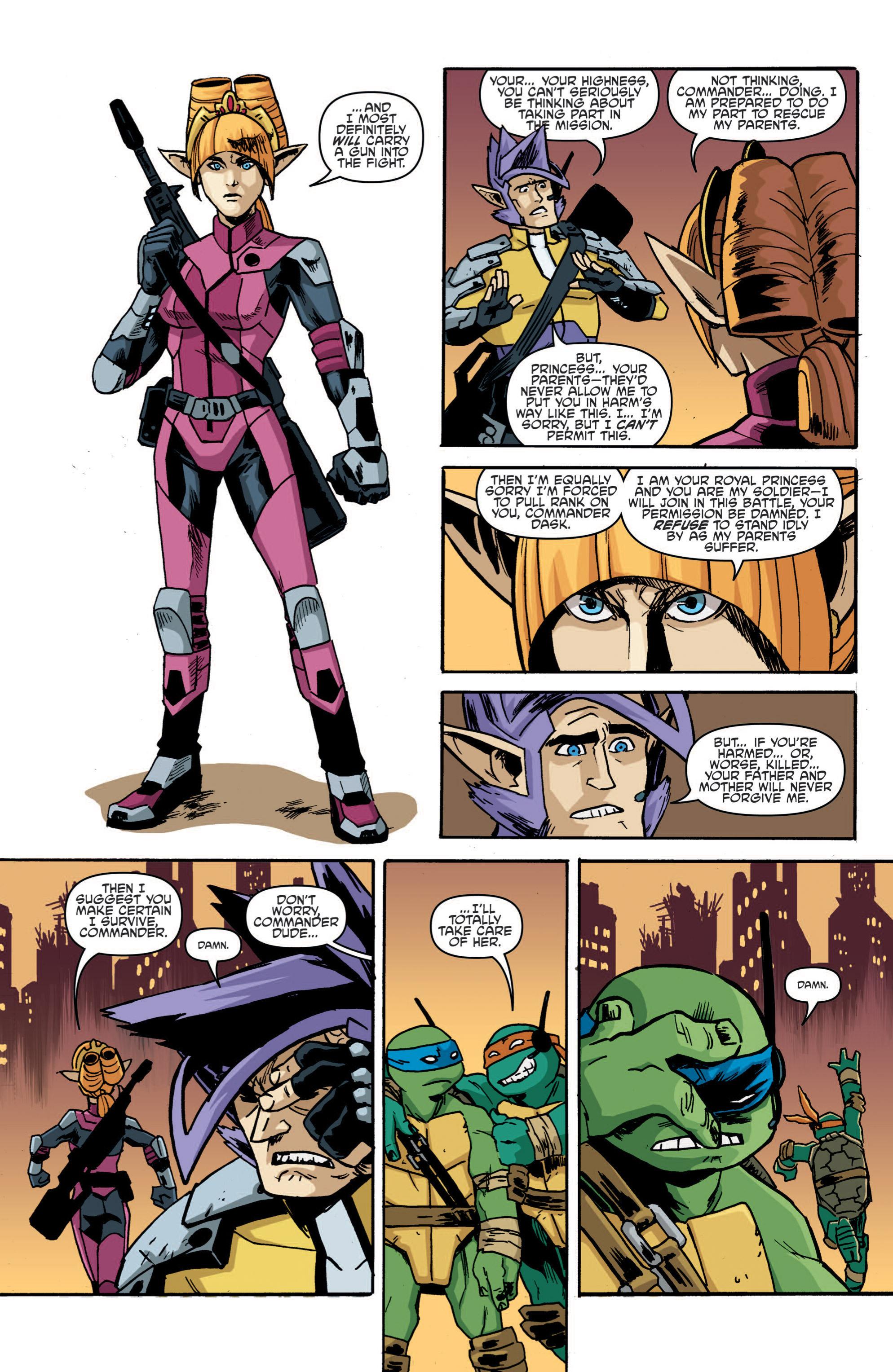 Read online Teenage Mutant Ninja Turtles (2011) comic -  Issue #19 - 17