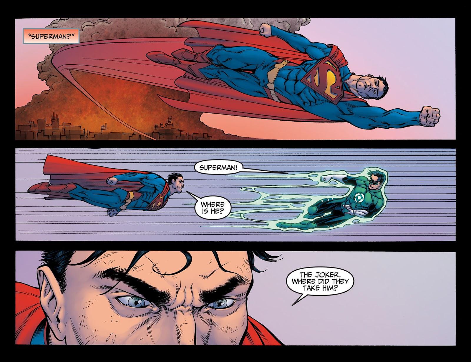 Injustice: Gods Among Us [I] Issue #4 #5 - English 11