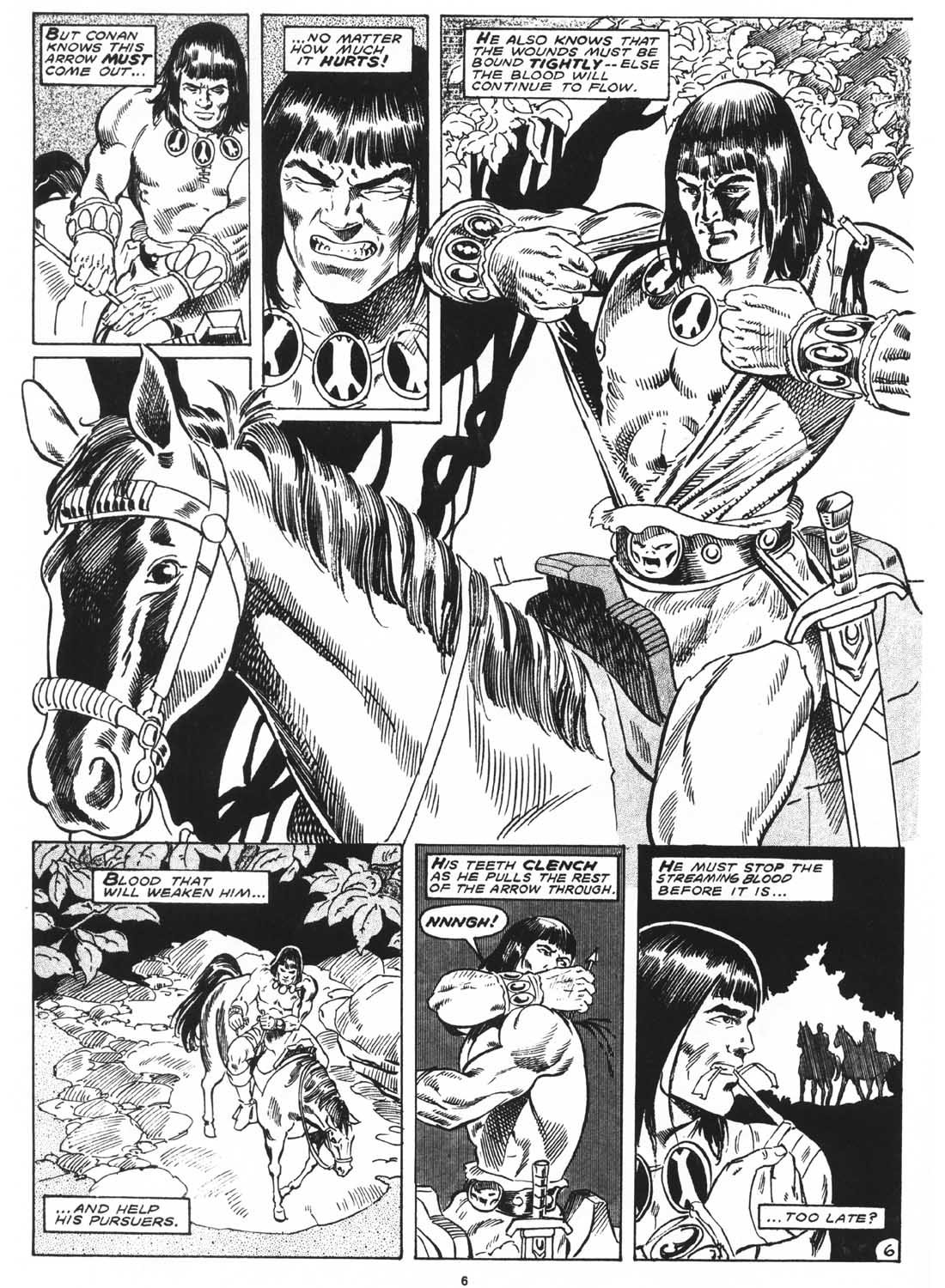 The Savage Sword Of Conan Issue #171 #172 - English 8