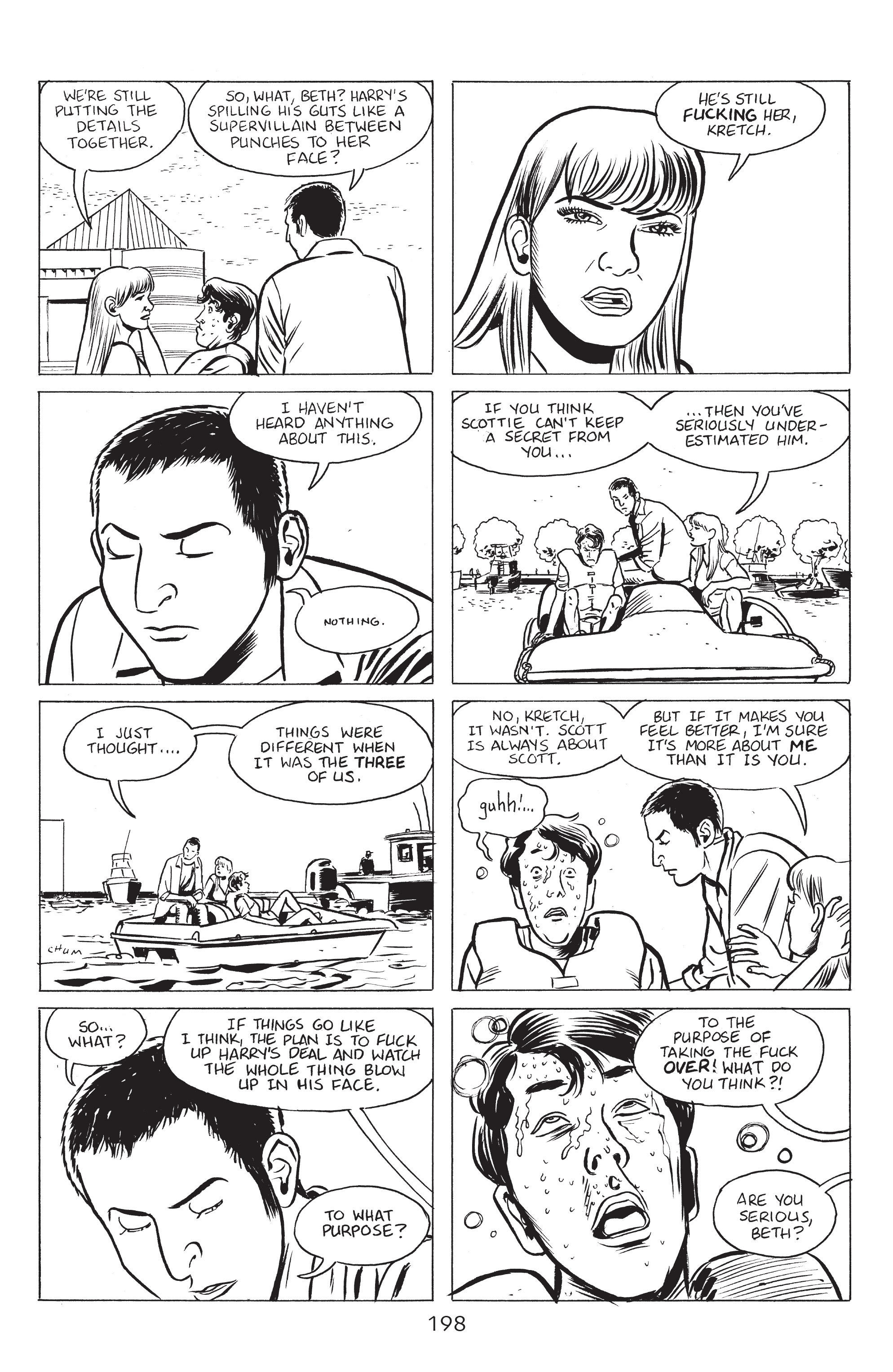 Read online Stray Bullets: Sunshine & Roses comic -  Issue #8 - 4