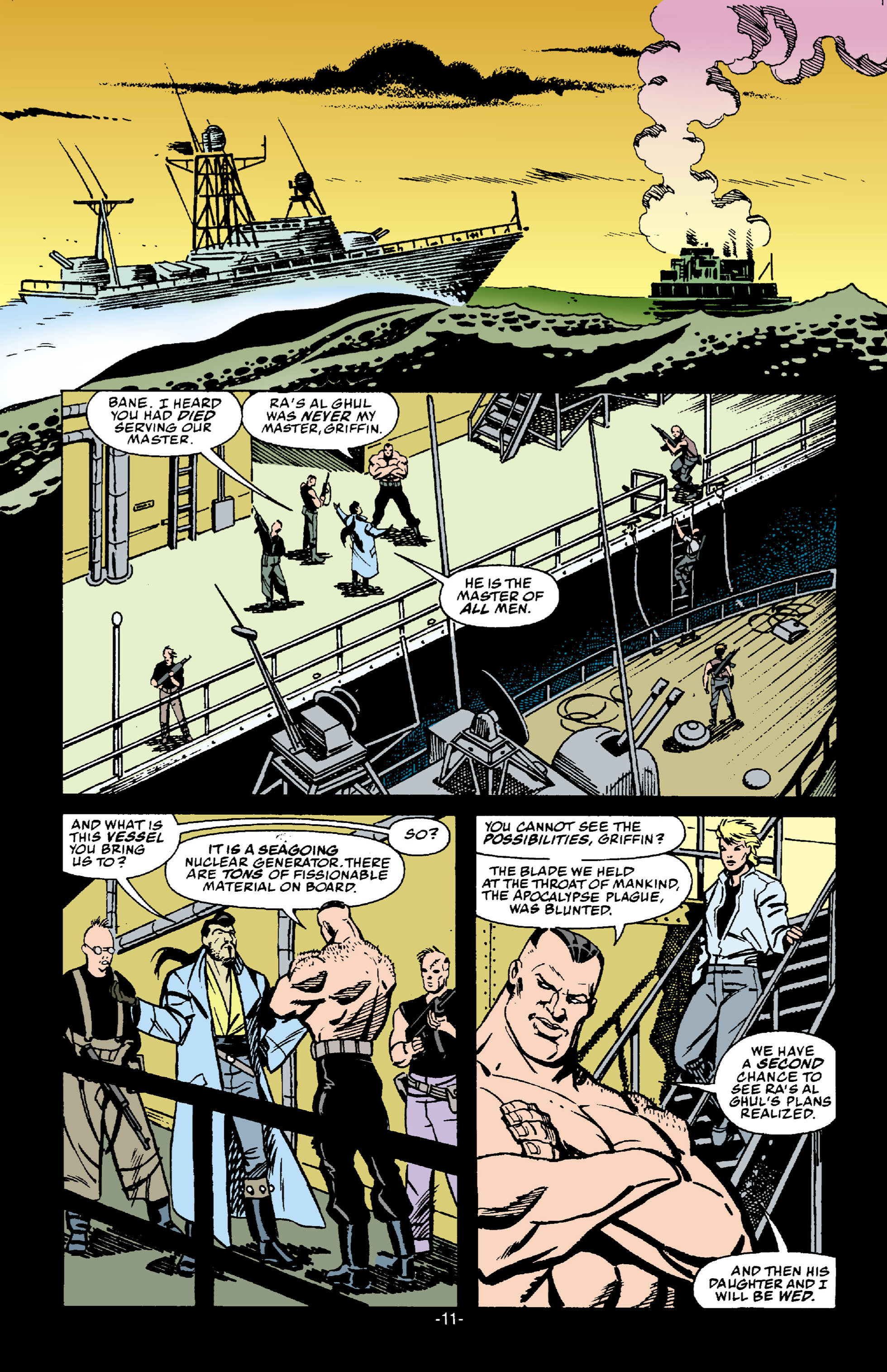 Read online Batman: Bane comic -  Issue # Full - 12