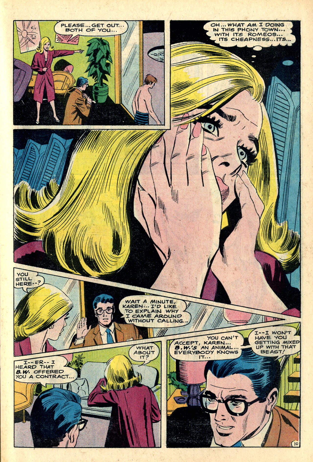 Read online Secret Hearts comic -  Issue #132 - 62