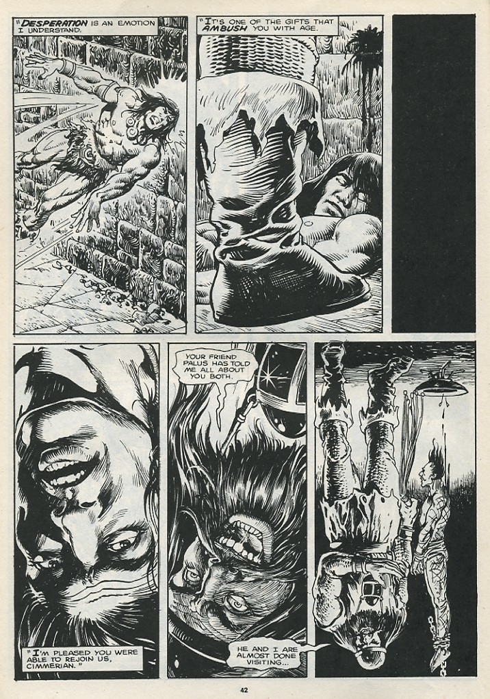 The Savage Sword Of Conan Issue #174 #175 - English 44