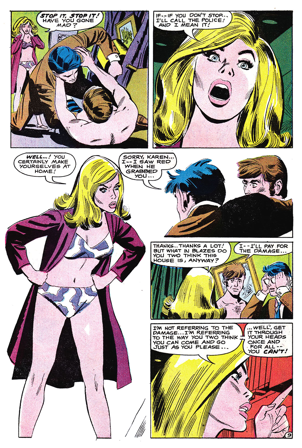 Read online Secret Hearts comic -  Issue #132 - 25