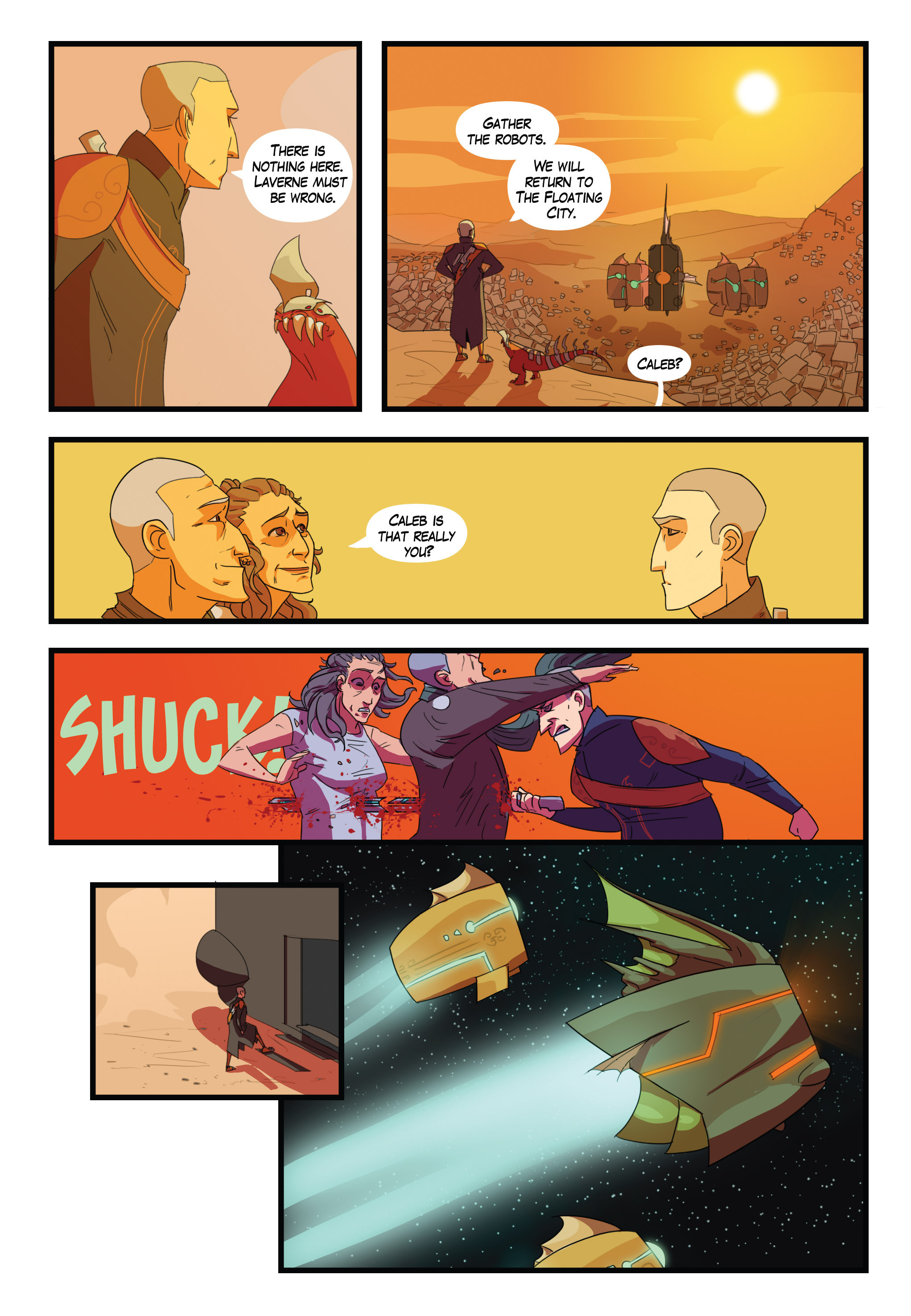 Read online Scavenger comic -  Issue #1 - 23