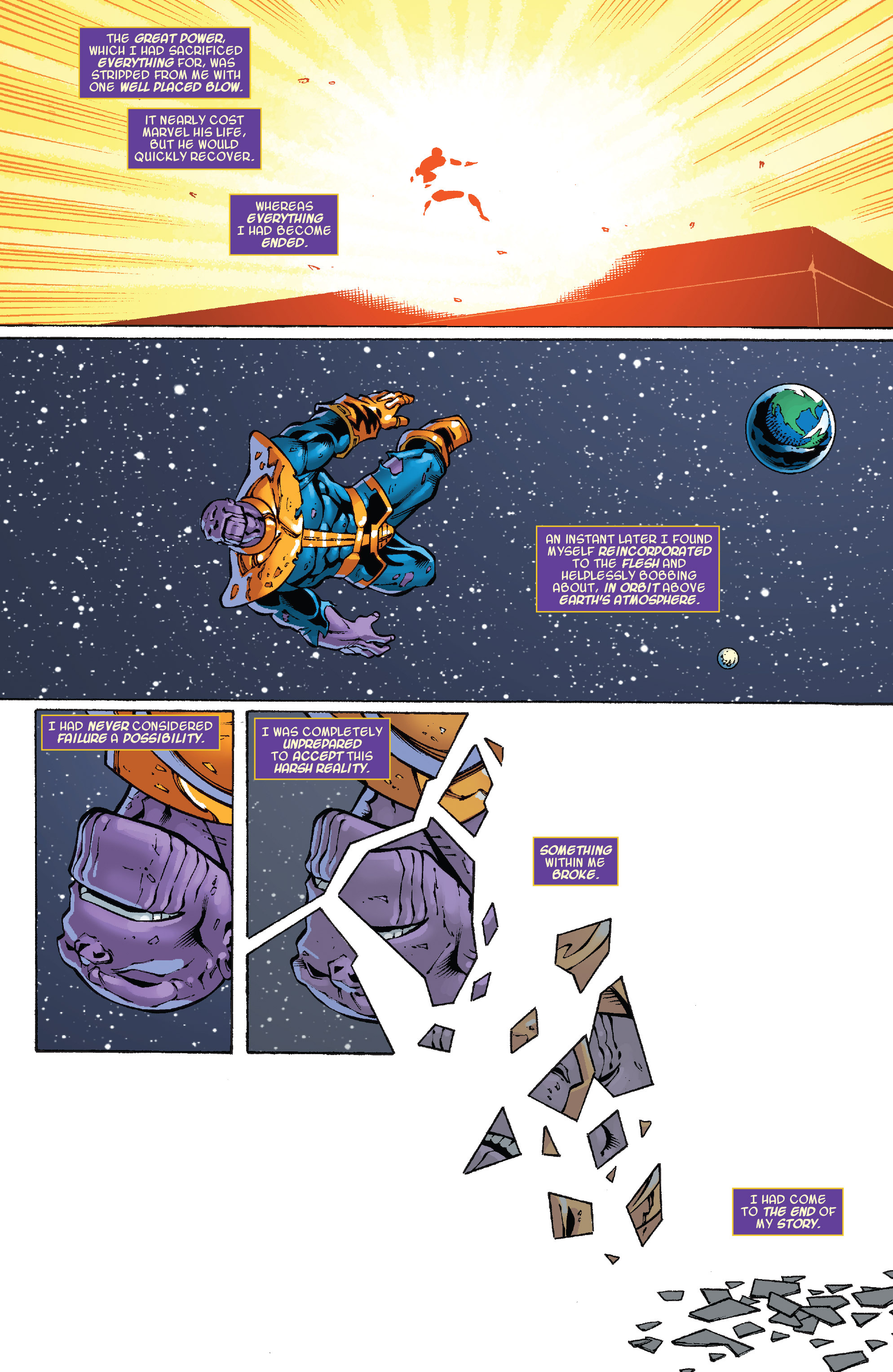 Read online Thanos Annual comic -  Issue # Annual - 6