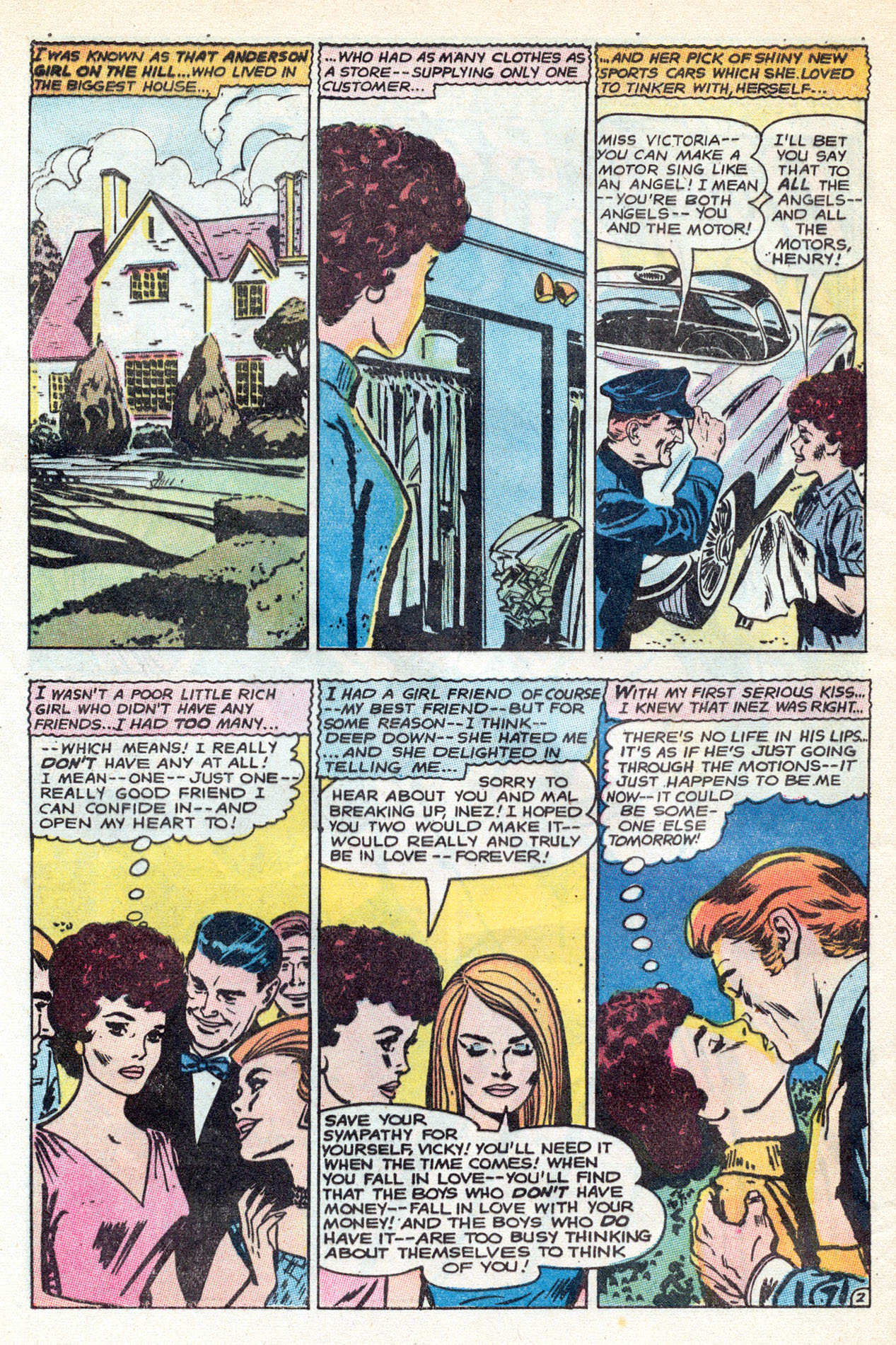 Read online Secret Hearts comic -  Issue #149 - 28