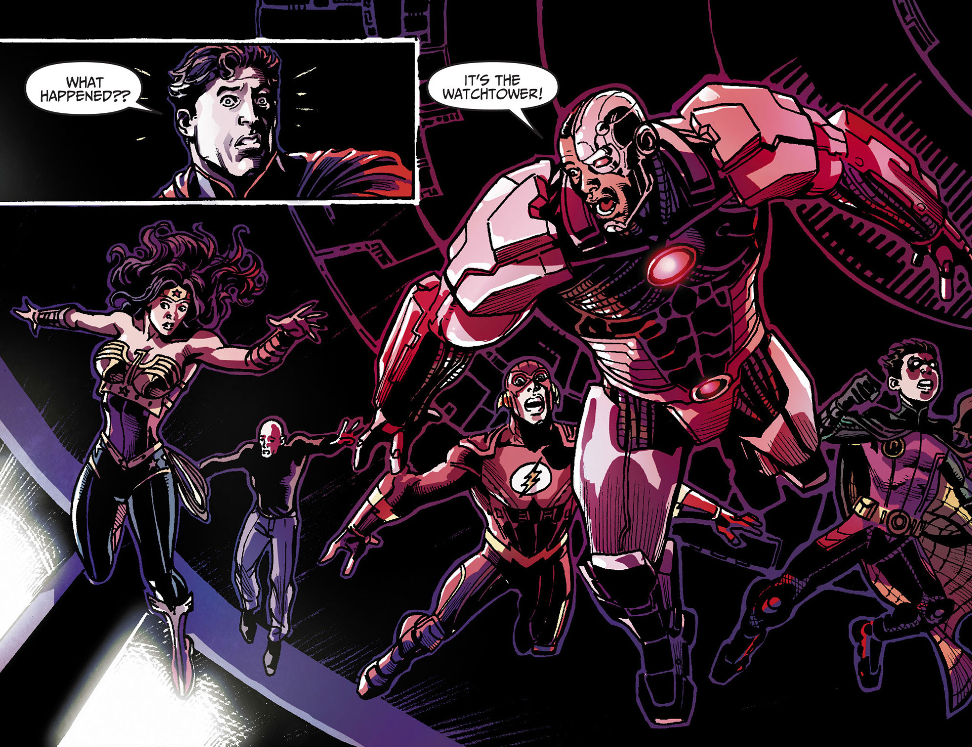 Read online Injustice: Gods Among Us [I] comic - Issue #28