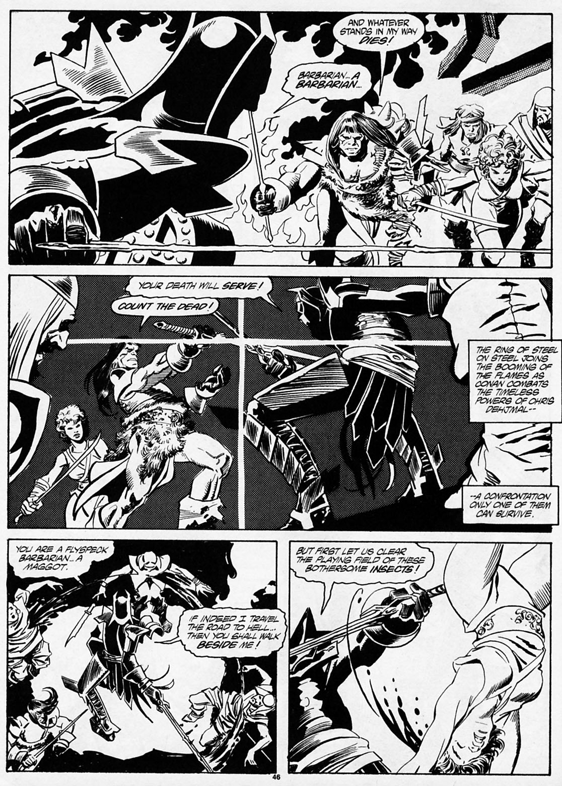 The Savage Sword Of Conan Issue #186 #187 - English 47