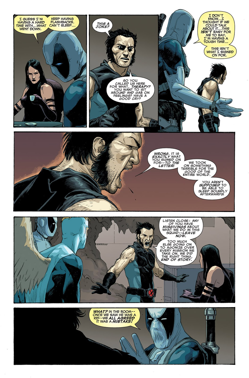 Uncanny X-Force (2010) Issue #5 #5 - English 9