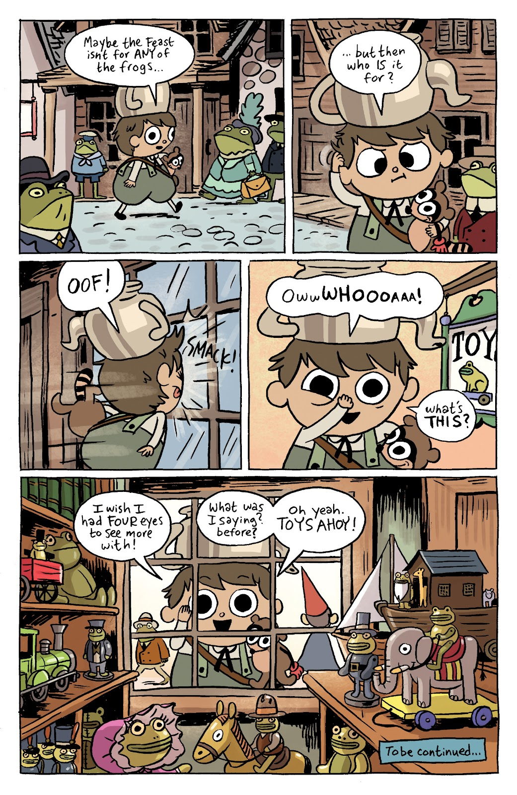 Over the Garden Wall (2016) Issue #12 #12 - English 13
