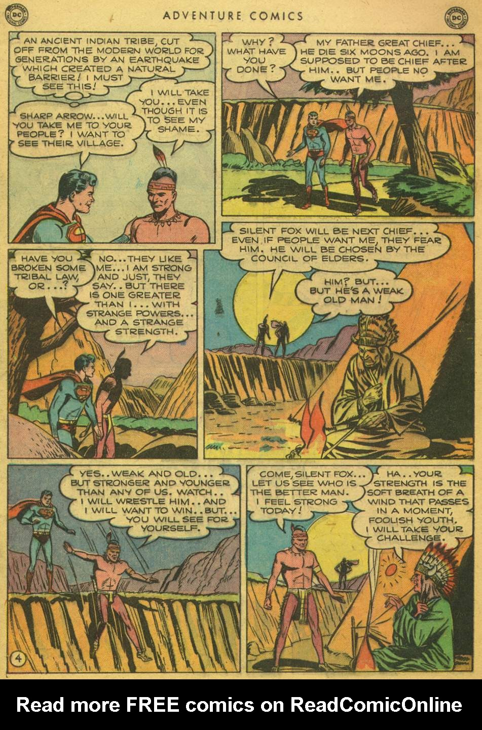 Read online Adventure Comics (1938) comic -  Issue #164 - 6