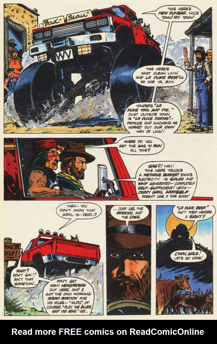 Read online Scout comic -  Issue #9 - 12