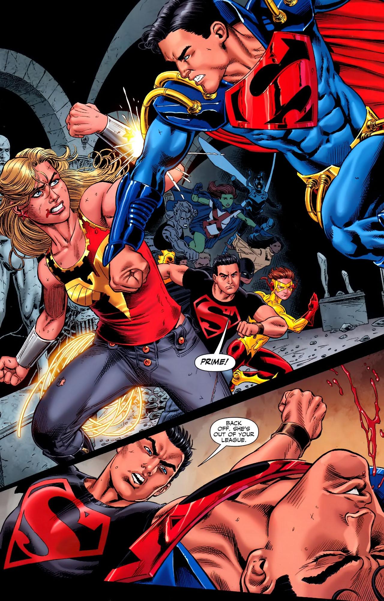 Teen Titans (2003) #100 #110 - English 20