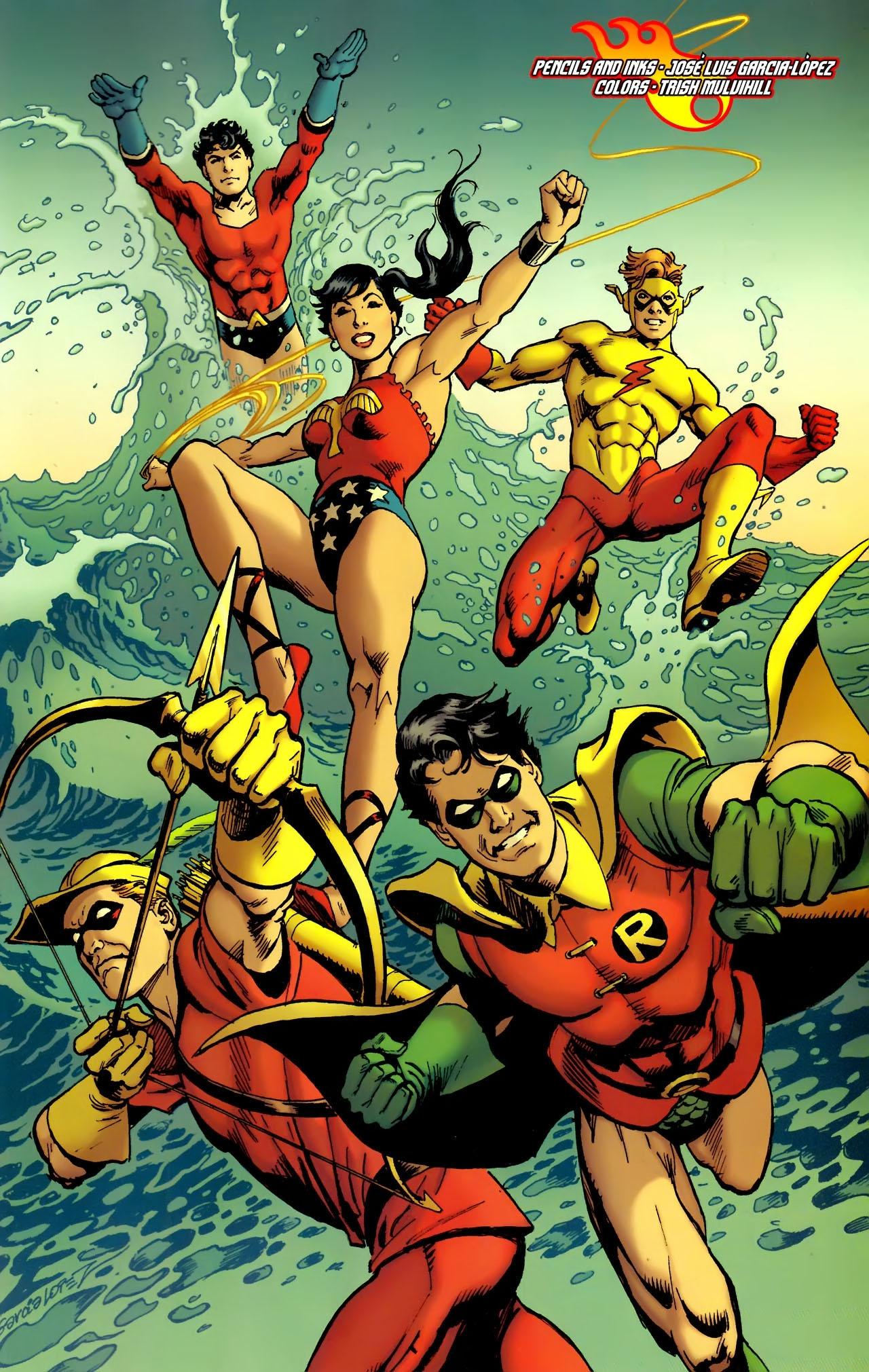 Teen Titans (2003) #100 #110 - English 32
