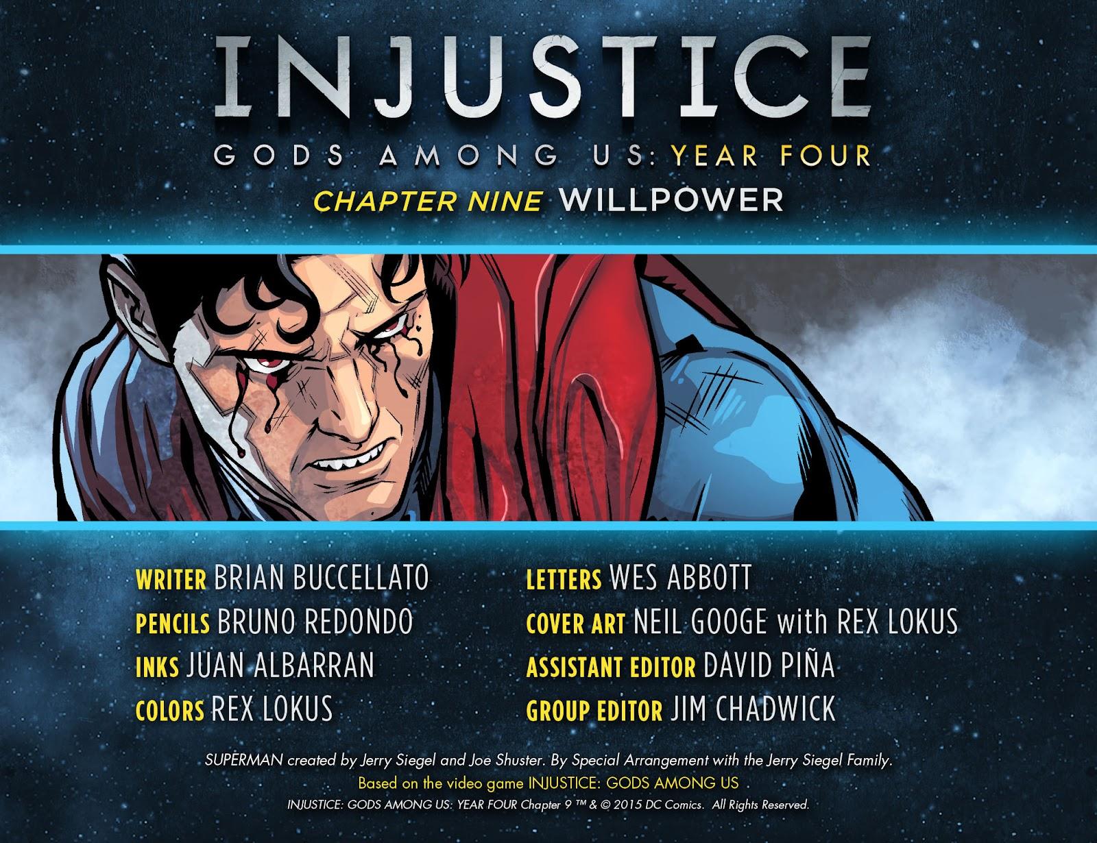 Injustice: Gods Among Us Year Four Issue #9 #10 - English 2