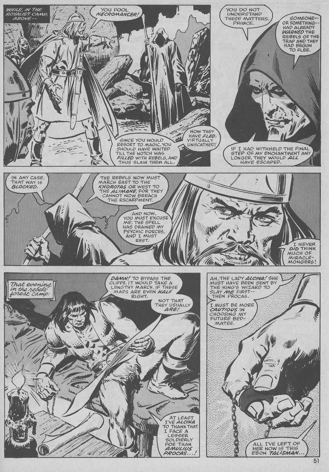 The Savage Sword Of Conan Issue #51 #52 - English 51