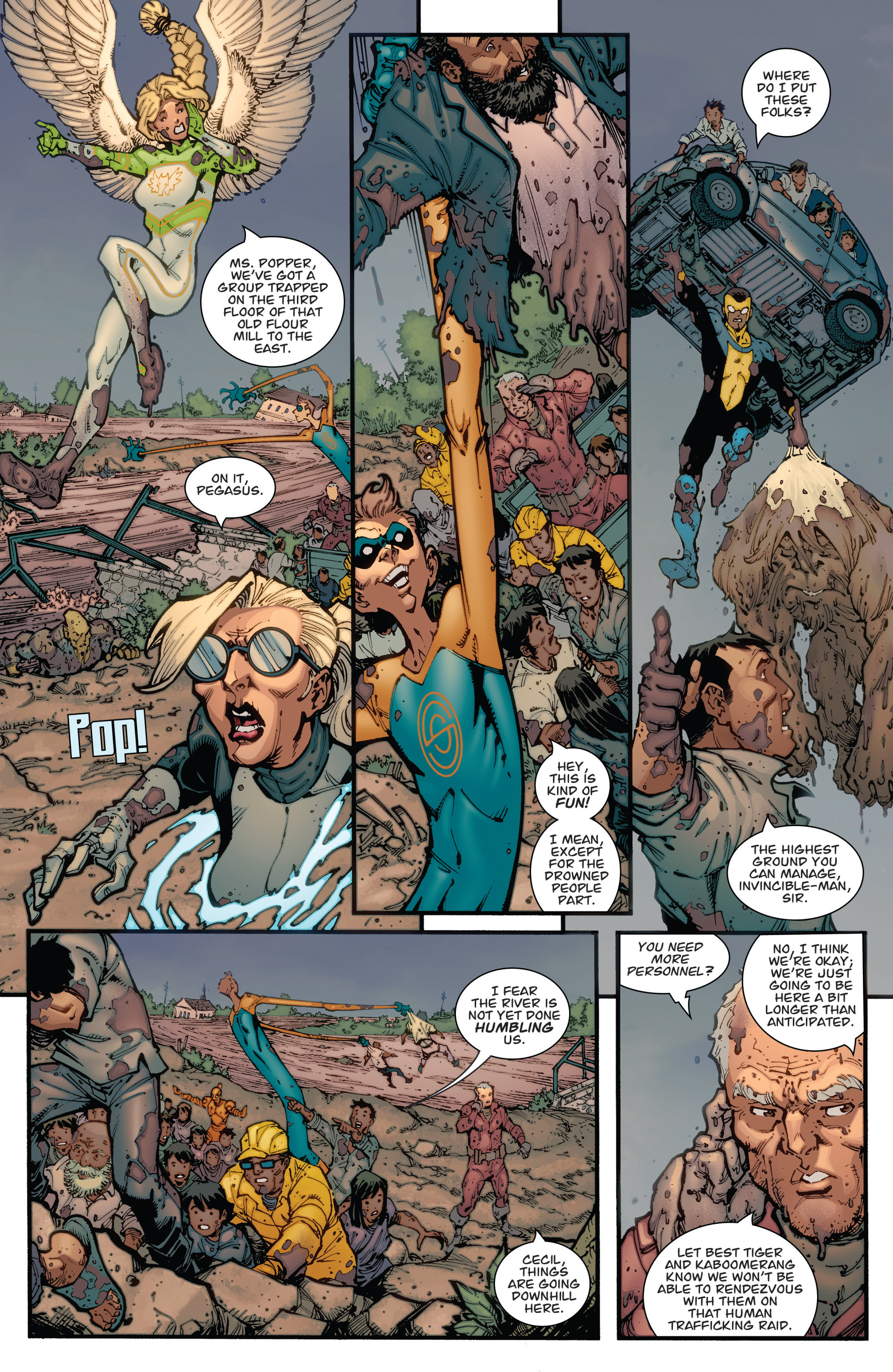 Read online Guarding the Globe (2012) comic -  Issue #2 - 6