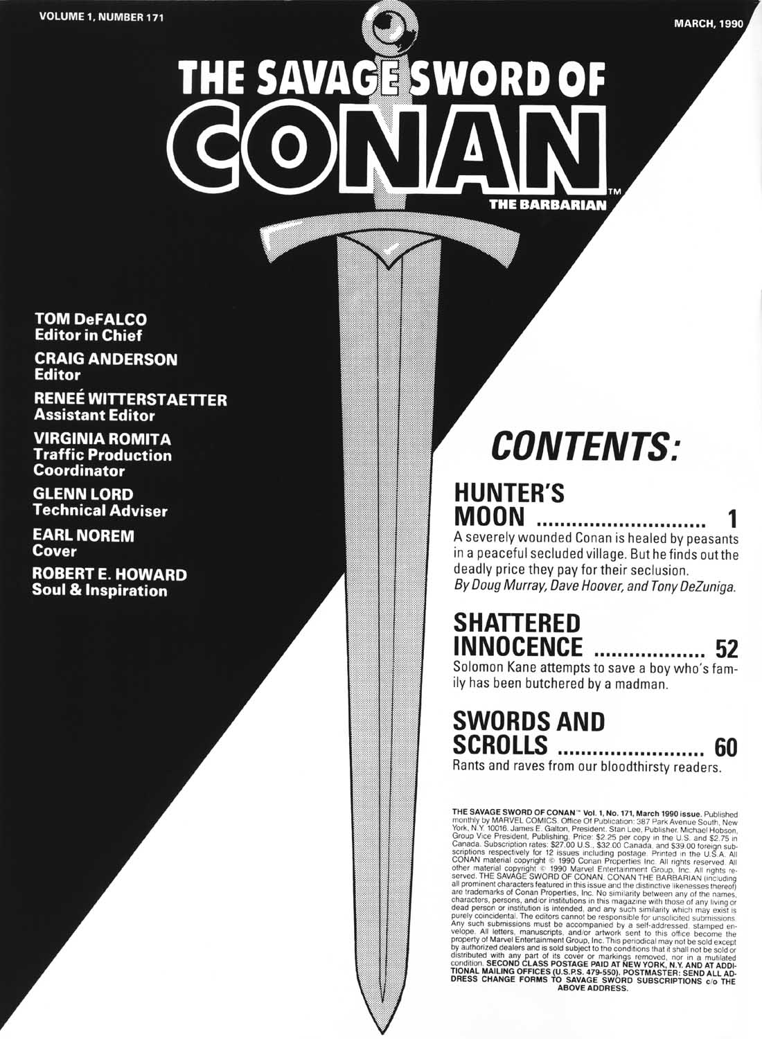 The Savage Sword Of Conan Issue #171 #172 - English 2