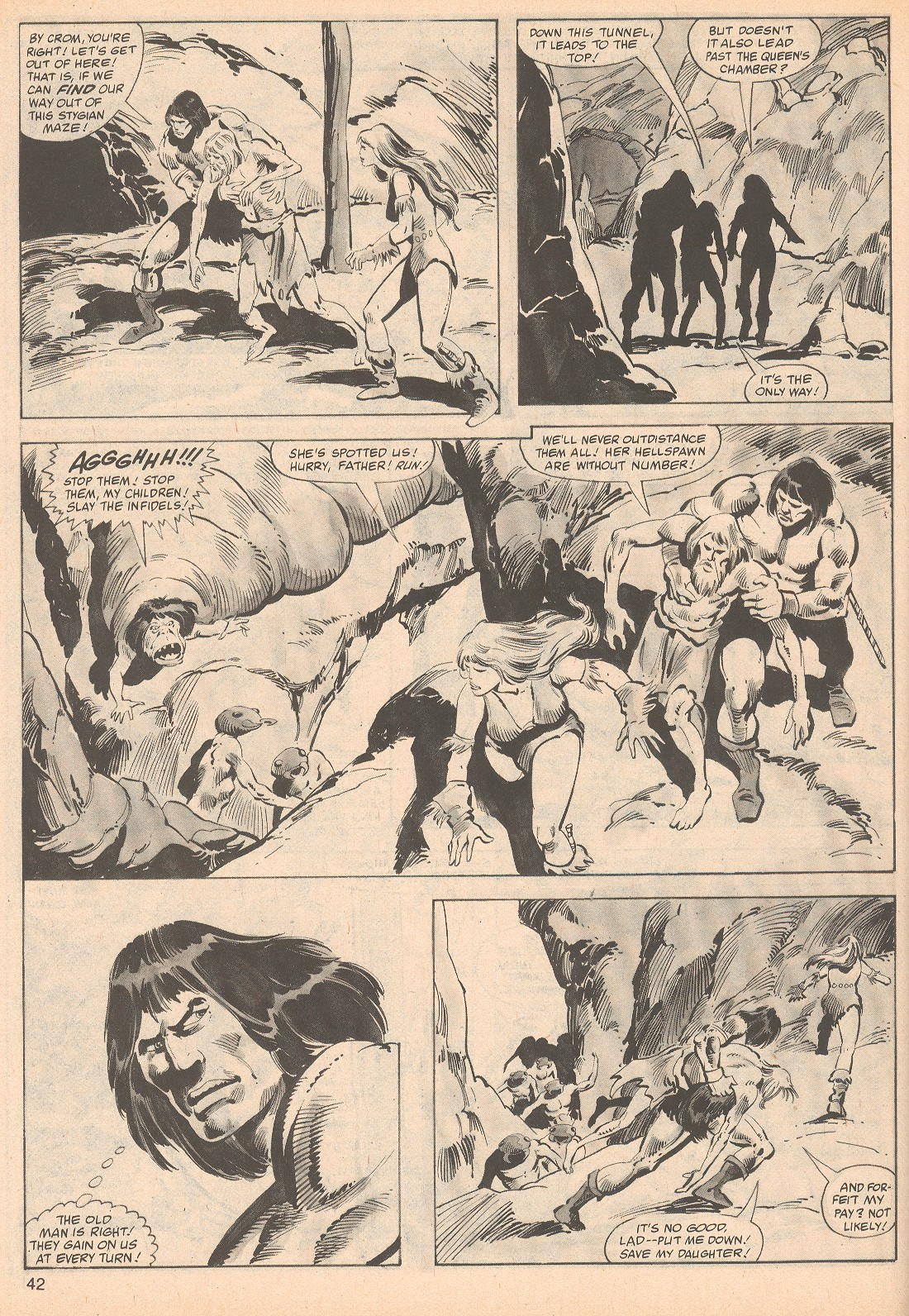 The Savage Sword Of Conan Issue #70 #71 - English 42