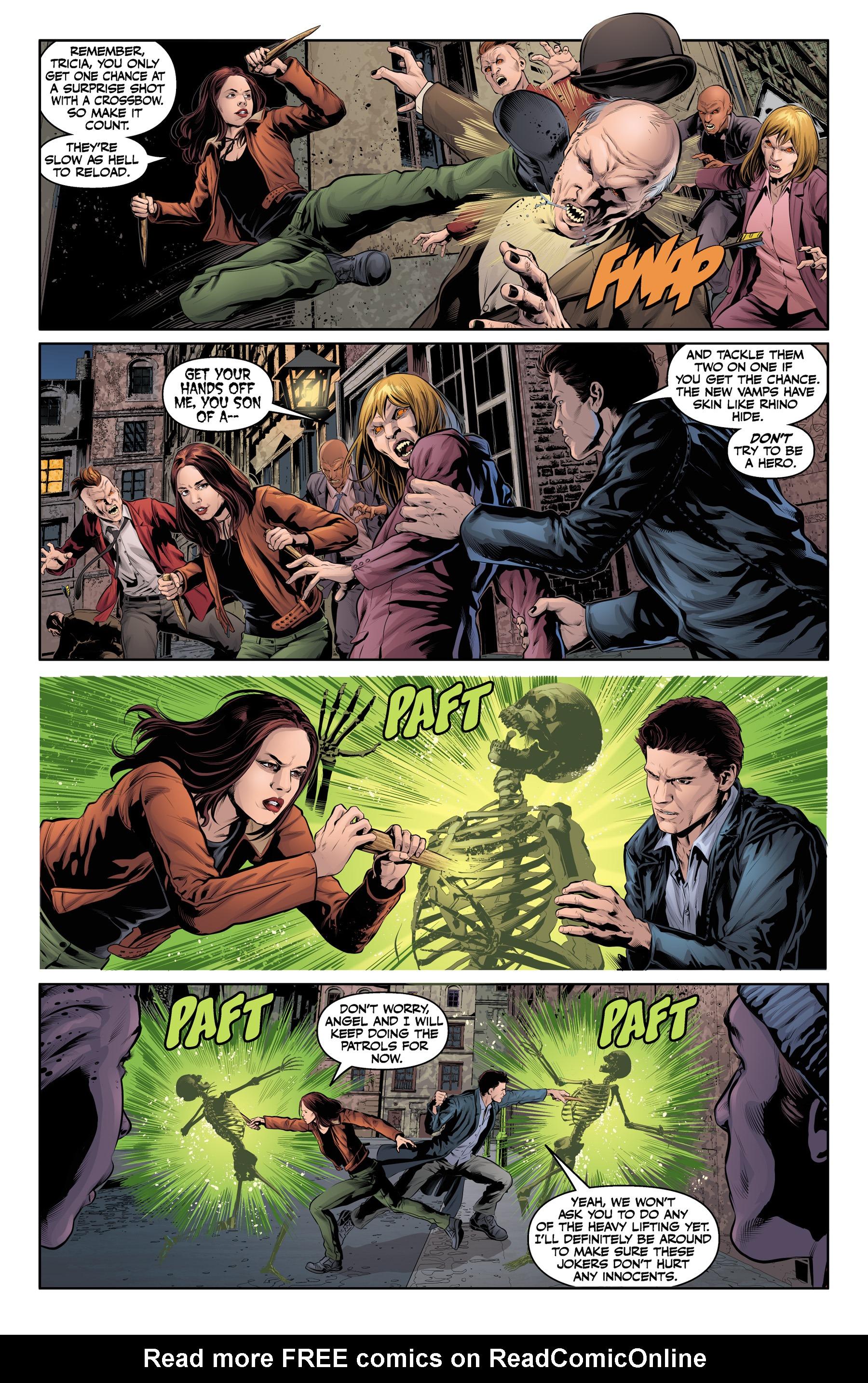 Read online Angel & Faith Season 10 comic -  Issue #21 - 6