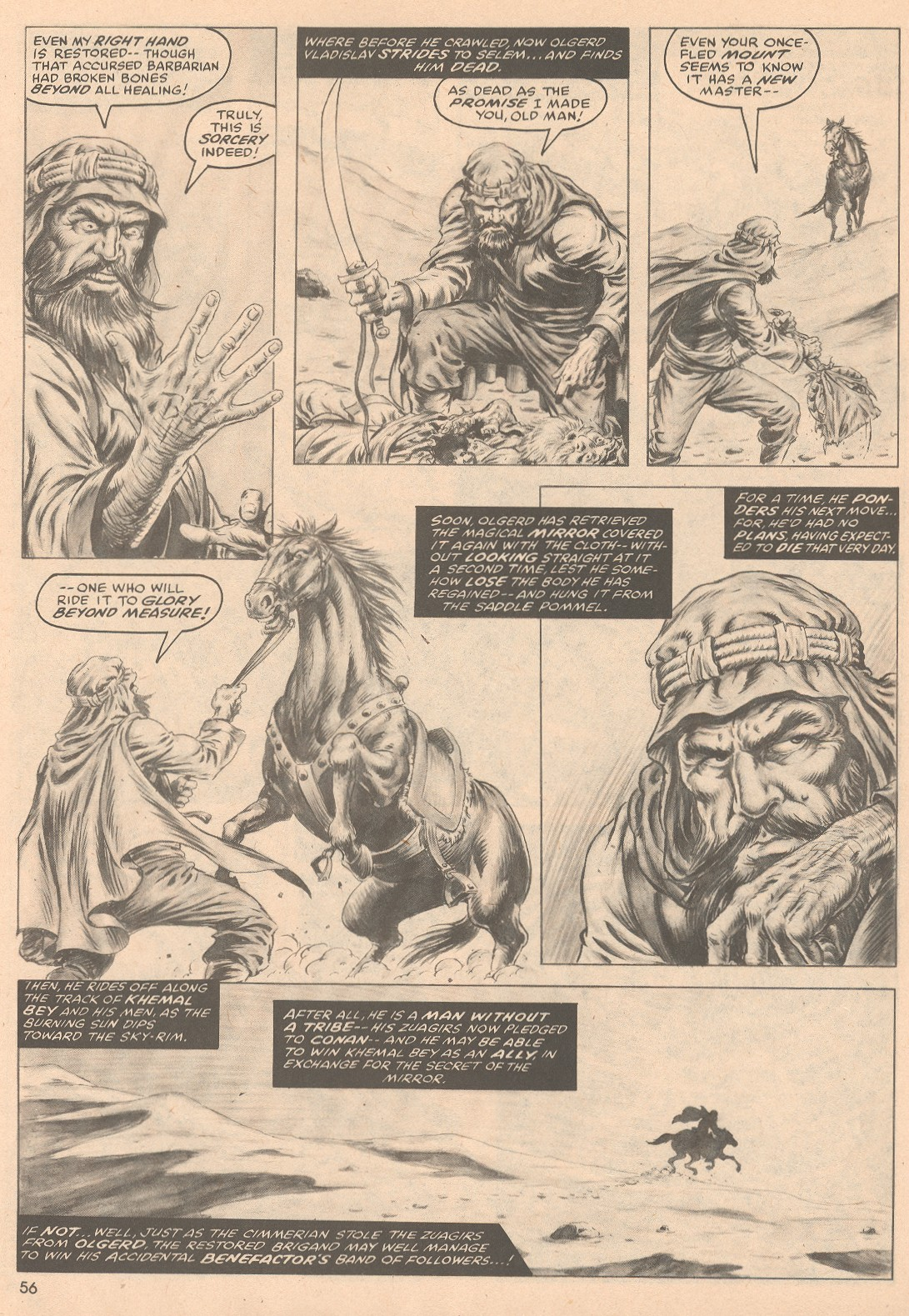 The Savage Sword Of Conan Issue #58 #59 - English 57