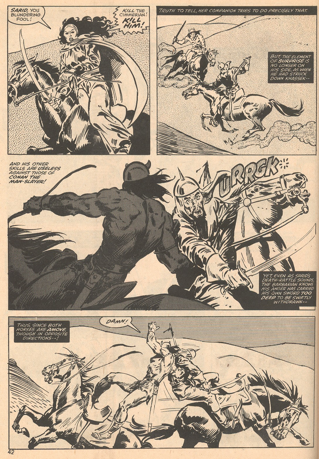 The Savage Sword Of Conan Issue #56 #57 - English 42